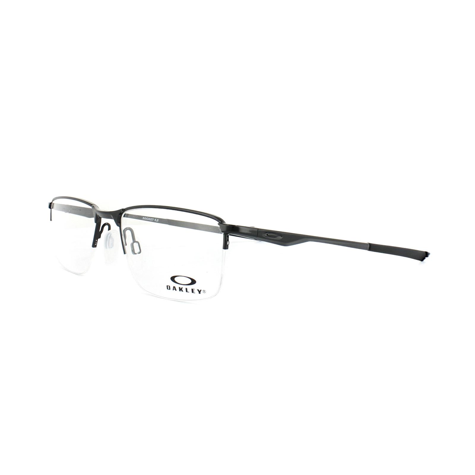 8adc472747 Sentinel Oakley Glasses Frames Socket 5.5 OX3218-01 Polished Black