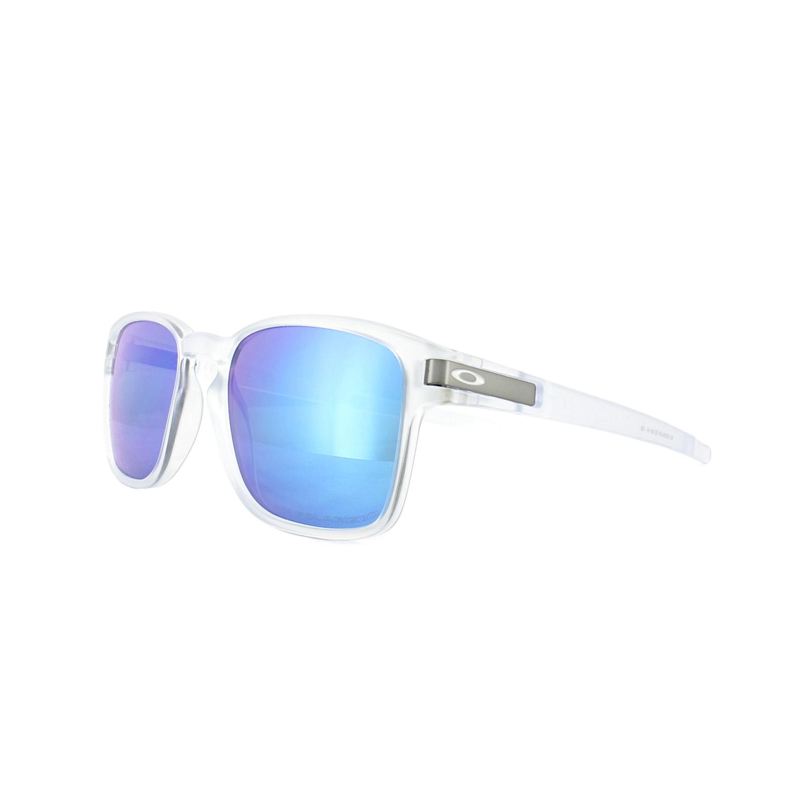 Oakley Gafas de sol Latch Cuadrado oo9353-06 CLARO ZAFIRO Iridio ...