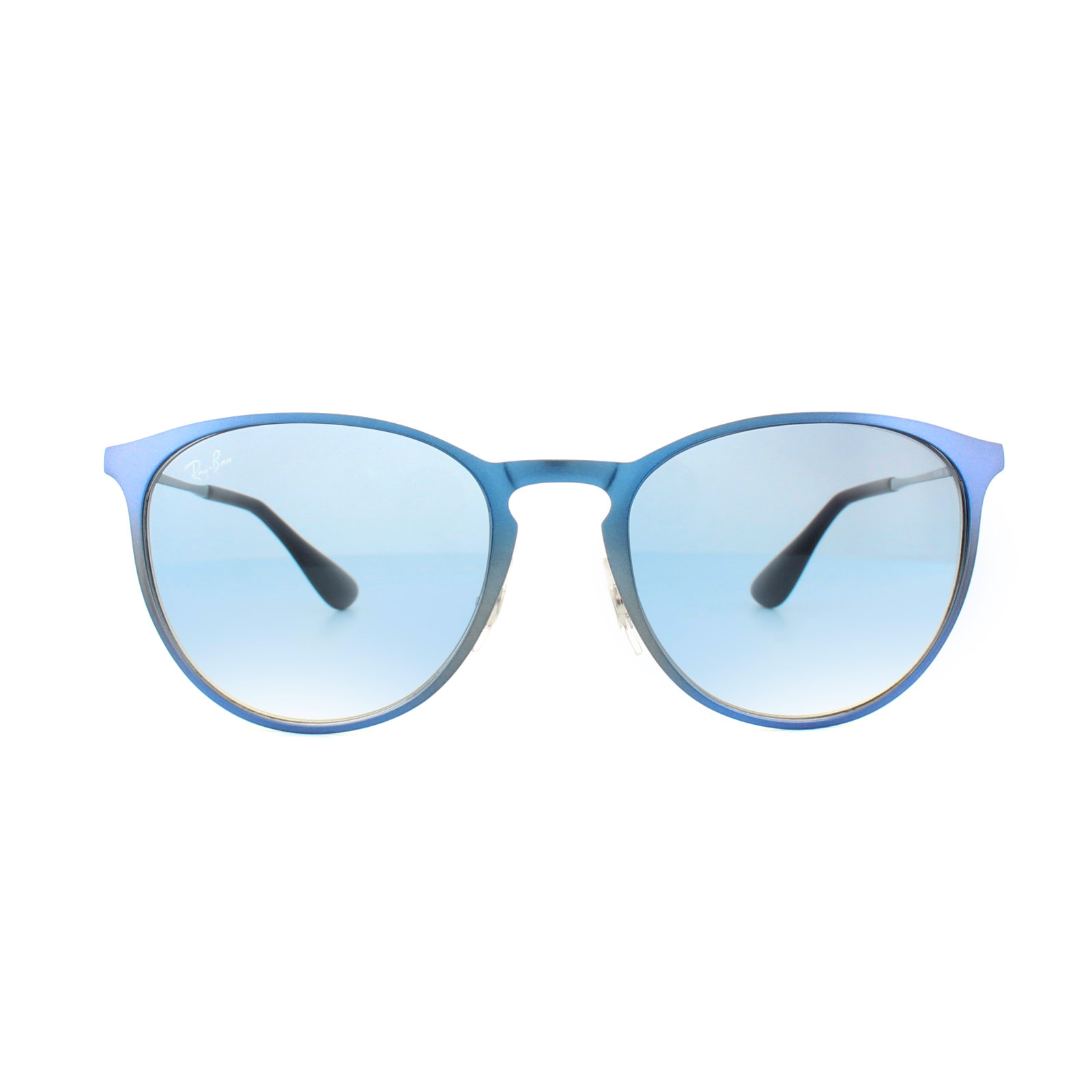 4565e90b15 Sentinel Ray-Ban Sunglasses Erika Metal 3539 194 19 Metalic Shot Blue Light  Blue Gradient