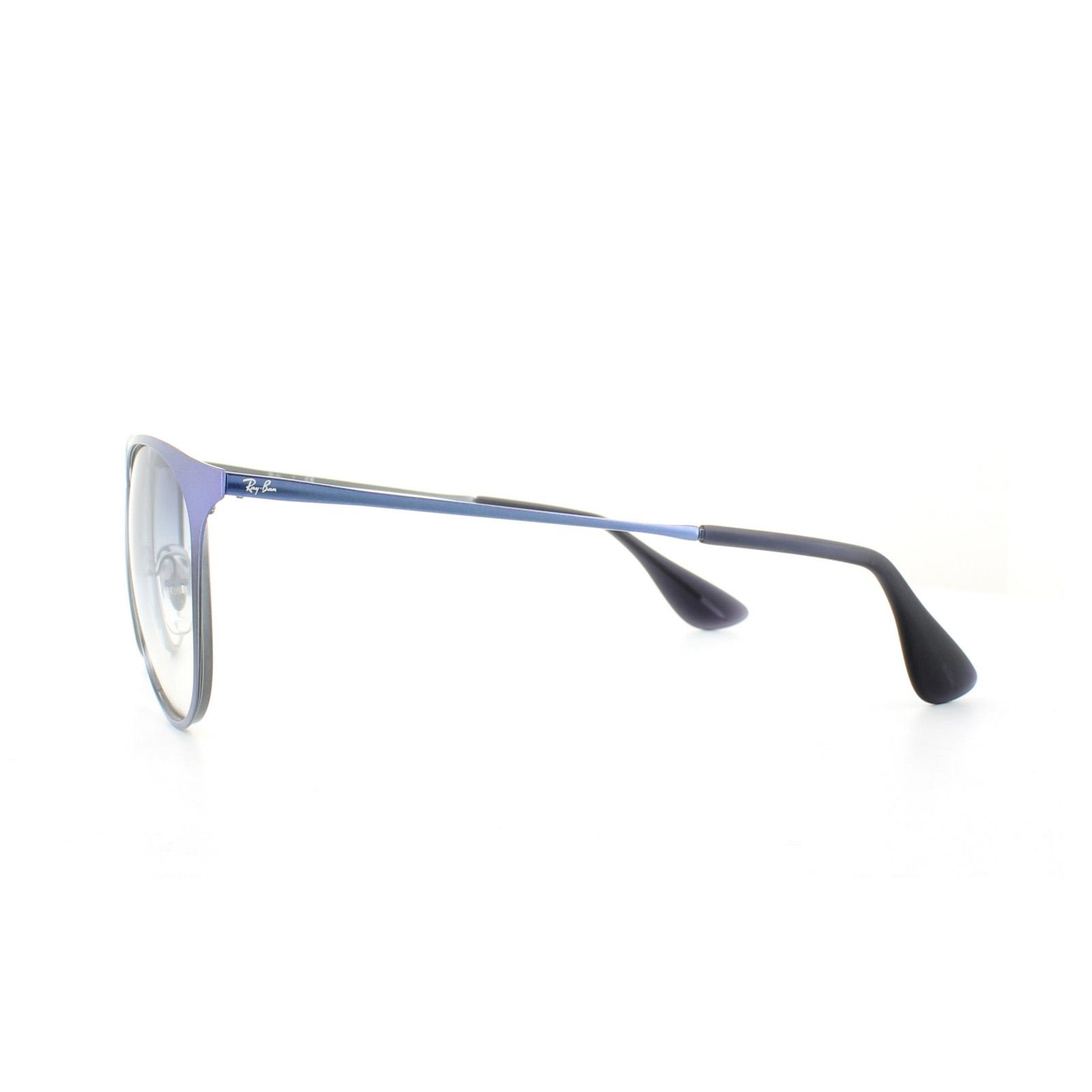 8841a3dc93e Sentinel Ray-Ban Sunglasses Erika Metal 3539 194 19 Metalic Shot Blue Light  Blue Gradient