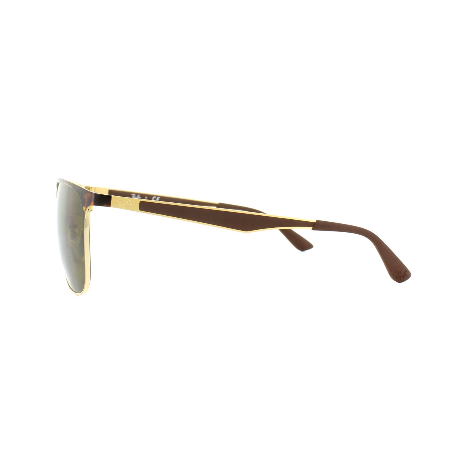 40ad8503d2 Sentinel Ray-Ban Sunglasses 3569 900873 Tortoise Gold Brown B-15