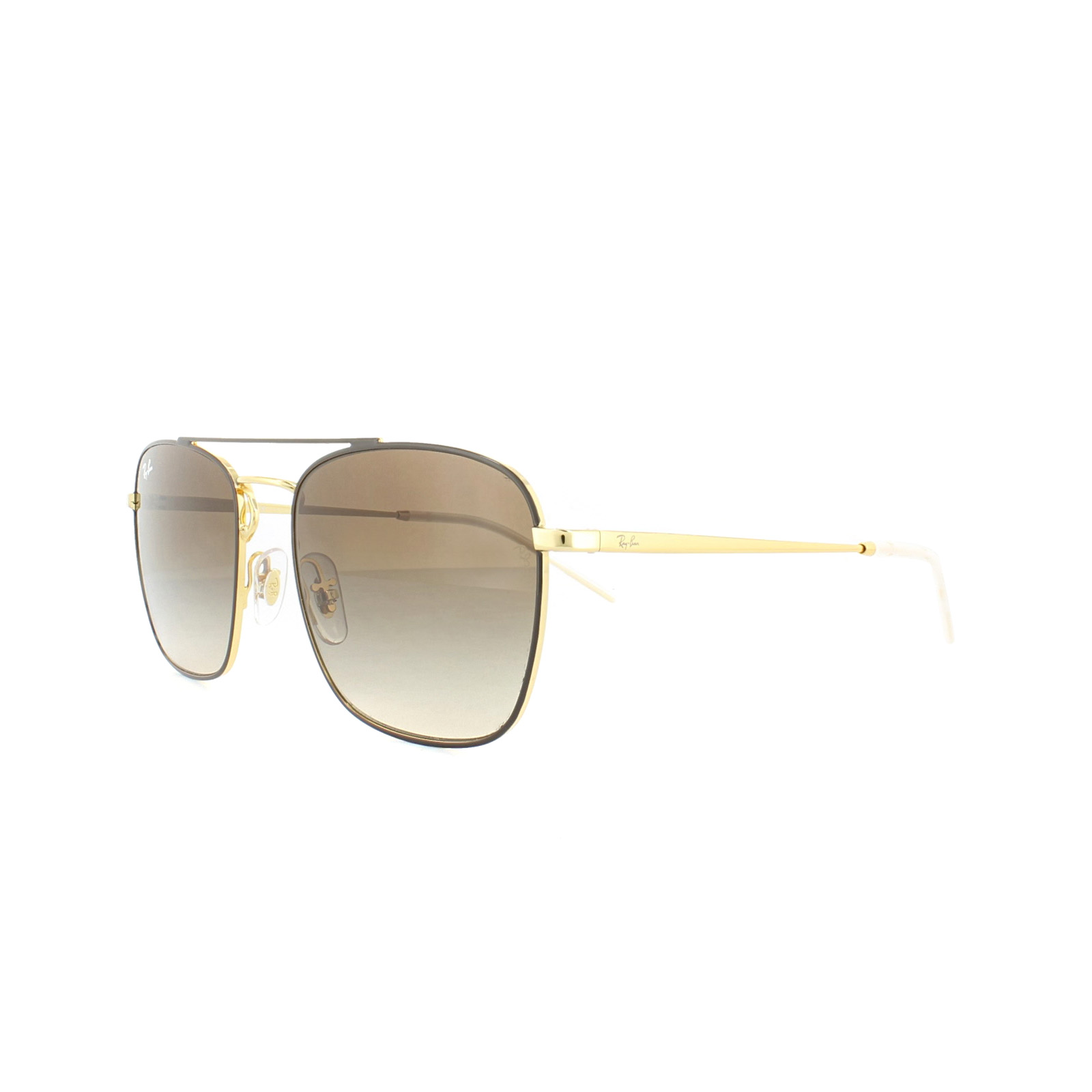 b06d73eae16 Sentinel Ray-Ban Sunglasses 3588 905513 Brown Gold Brown Gradient