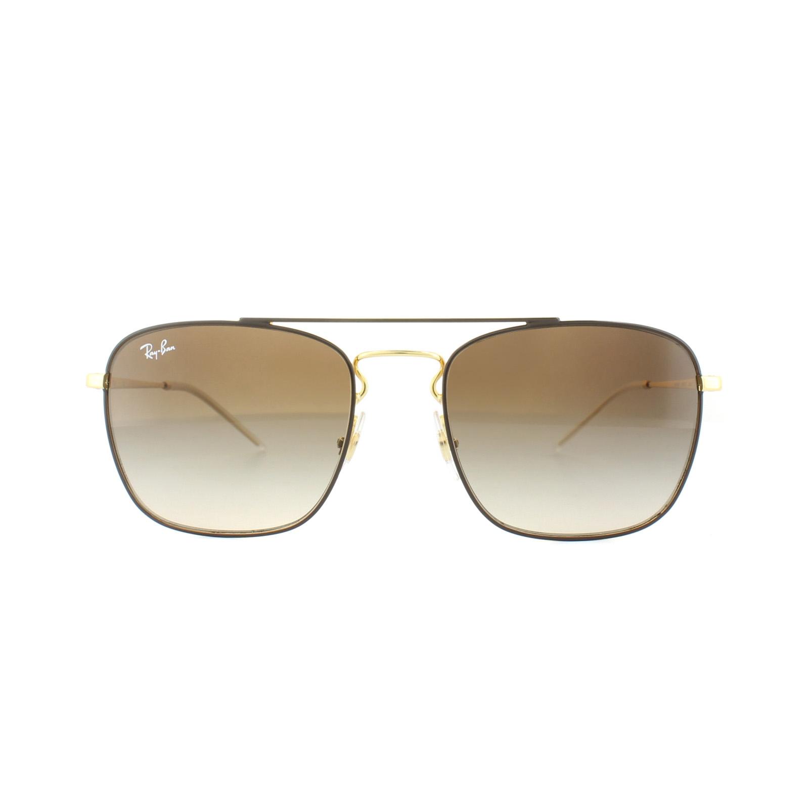 21354ebae1 Sentinel Ray-Ban Sunglasses 3588 905513 Brown Gold Brown Gradient