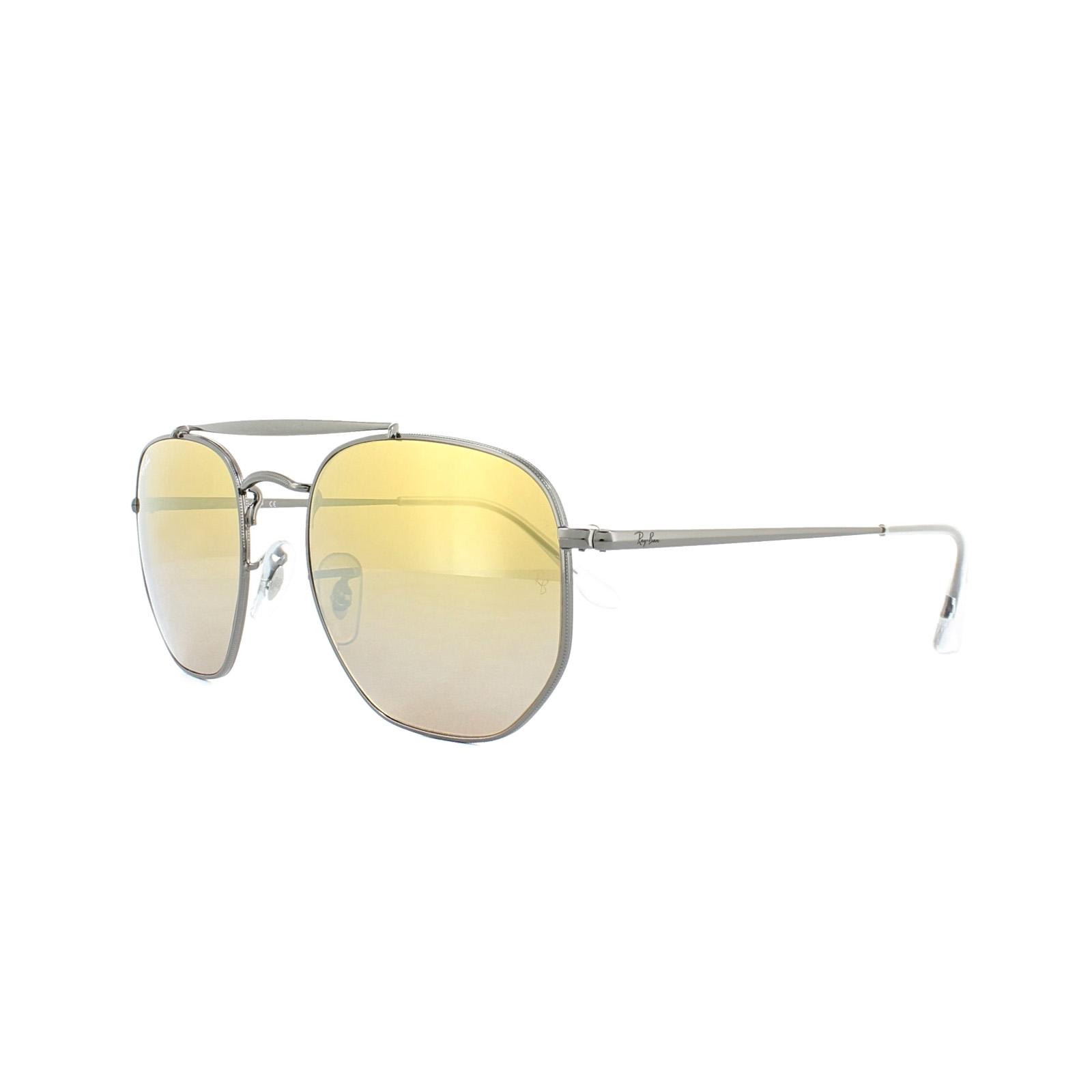 aa59a337c1 Ray-Ban Sunglasses Marshal 3648 004 I3 Gunmetal Brown Gradient ...