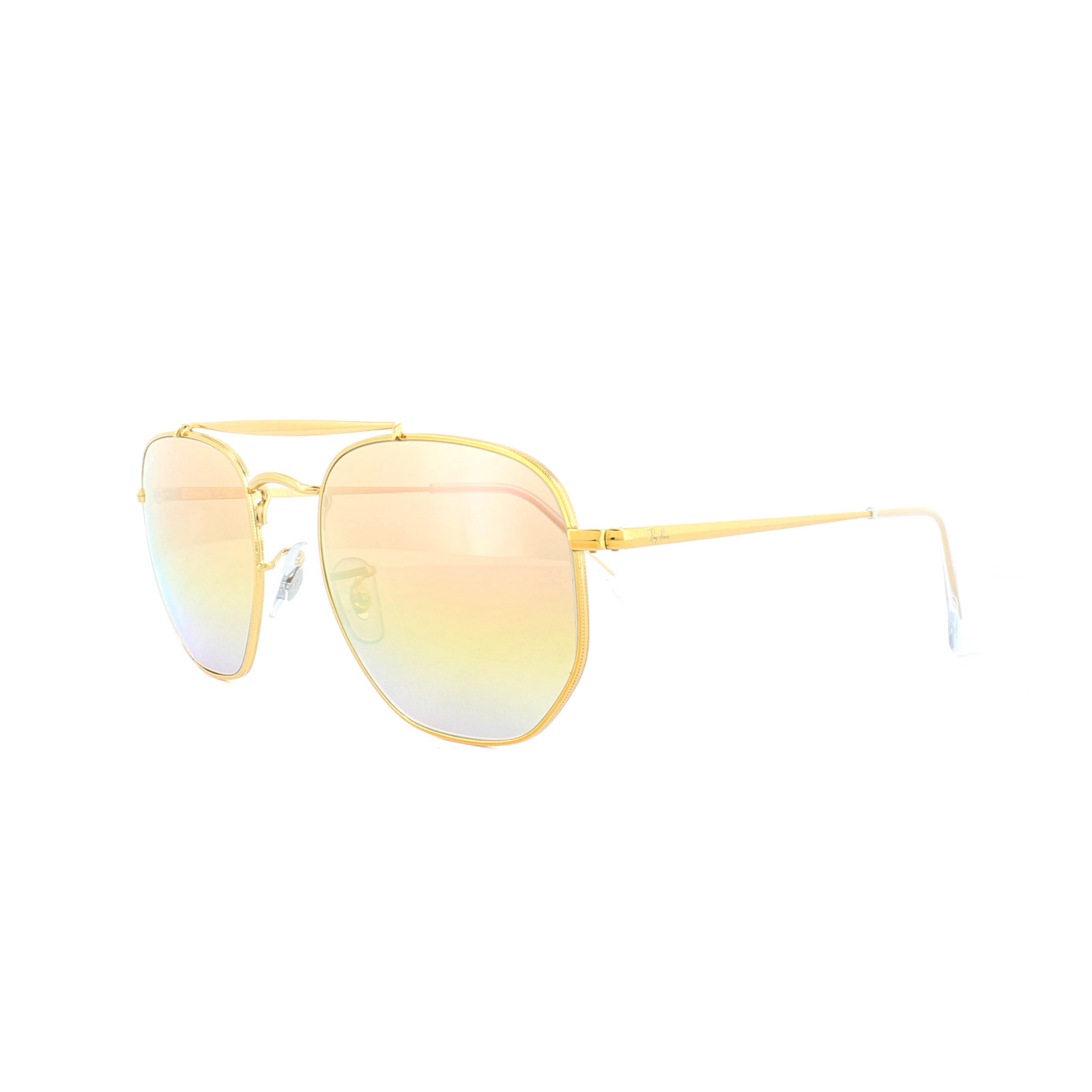6a90723dad3 Sentinel Ray-Ban Sunglasses Marshal 3648 9001I1 Bronze Copper Pink Gradient  Mirror