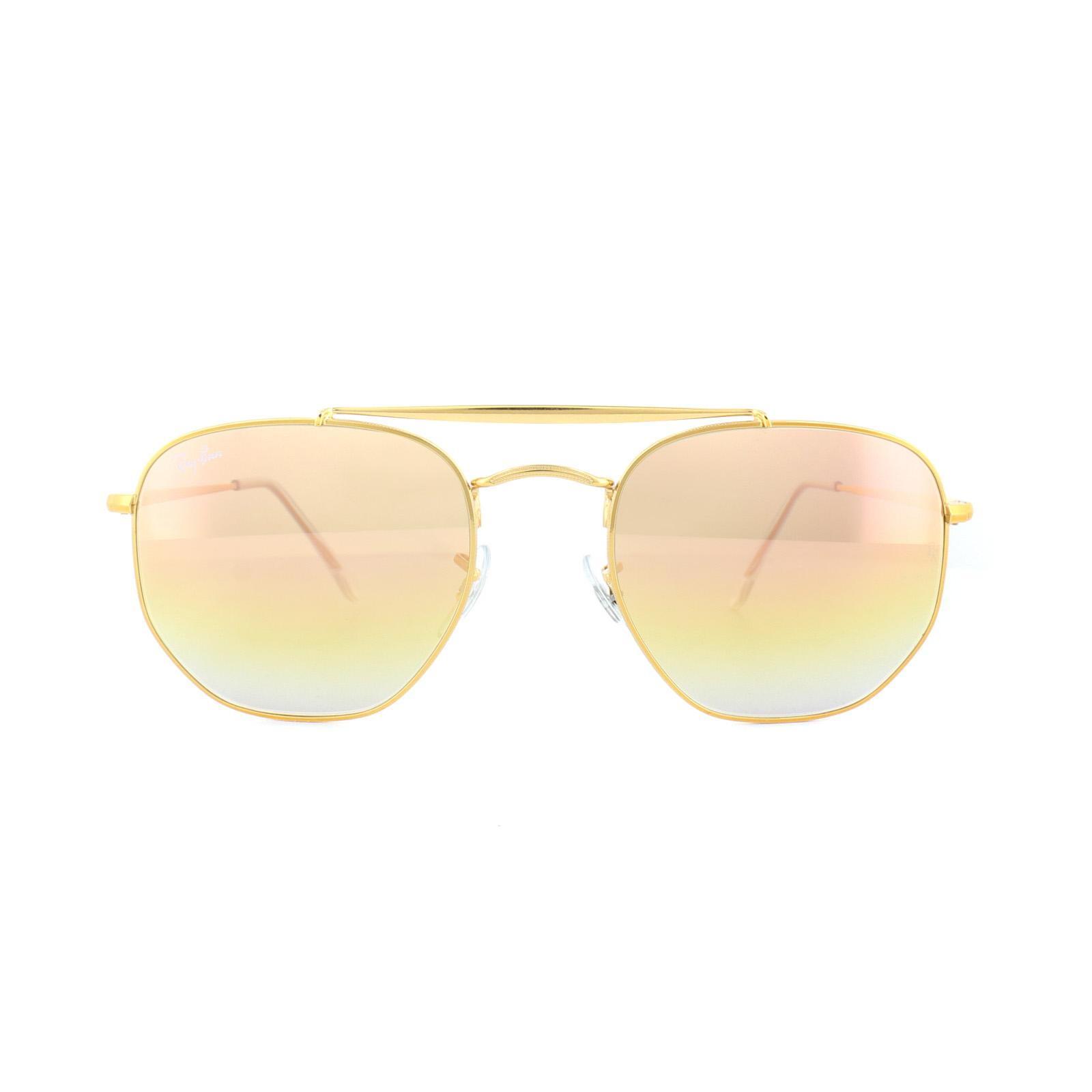 42d783fbca17b Sentinel Ray-Ban Sunglasses Marshal 3648 9001I1 Bronze Copper Pink Gradient  Mirror