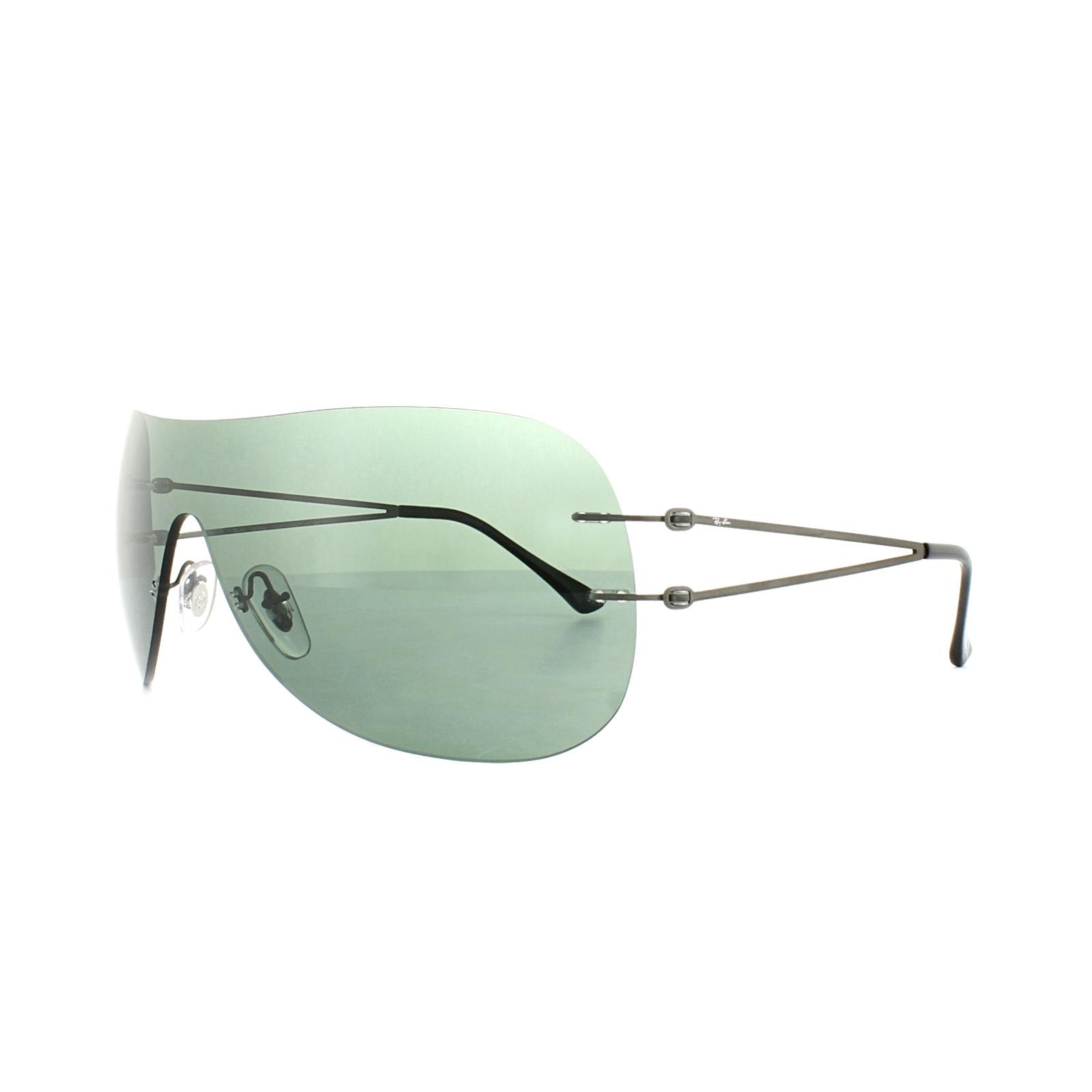 e89c7ecd9e1 Ray-Ban Sunglasses 8057 154 71 Dark Gunmetal Green 8053672637441