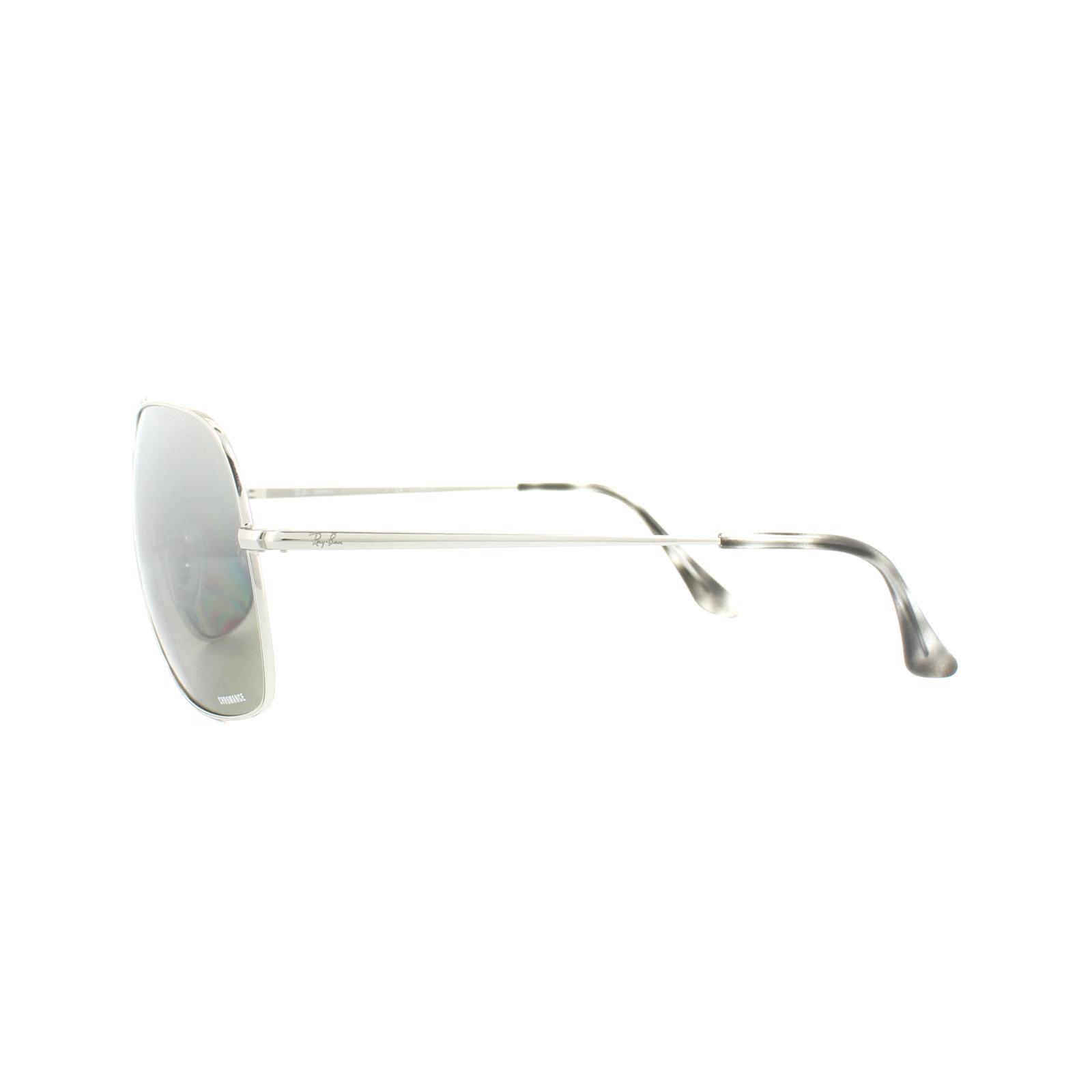75f493d13e Sentinel Thumbnail 3. Sentinel Ray-Ban Sunglasses 3587CH 003 5J Silver  Polarized Silver Mirror Chromance. Sentinel Thumbnail 4