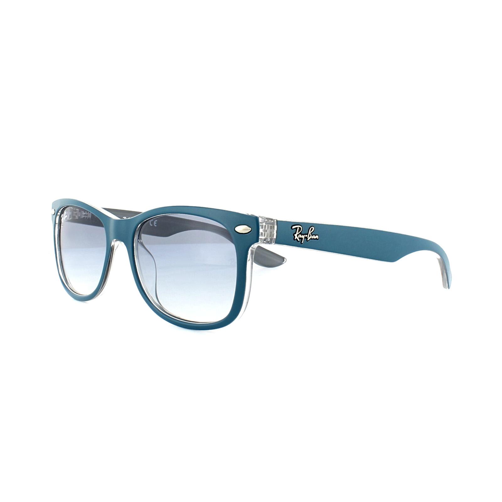 bfcc4c6e861c9 CENTINELA Ray-Ban Junior gafas de sol 9052S 703419 cristal azul degradado  azul luz