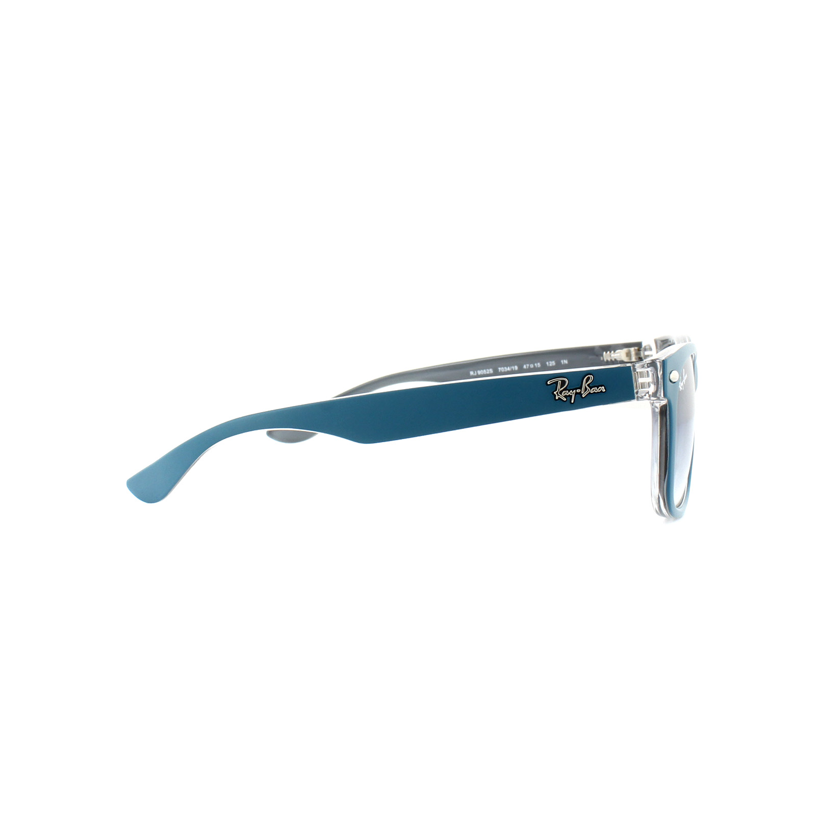 Sentinel Ray-Ban Junior Sunglasses 9052S 703419 Blue Crystal Light Blue  Gradient 2477d36fae