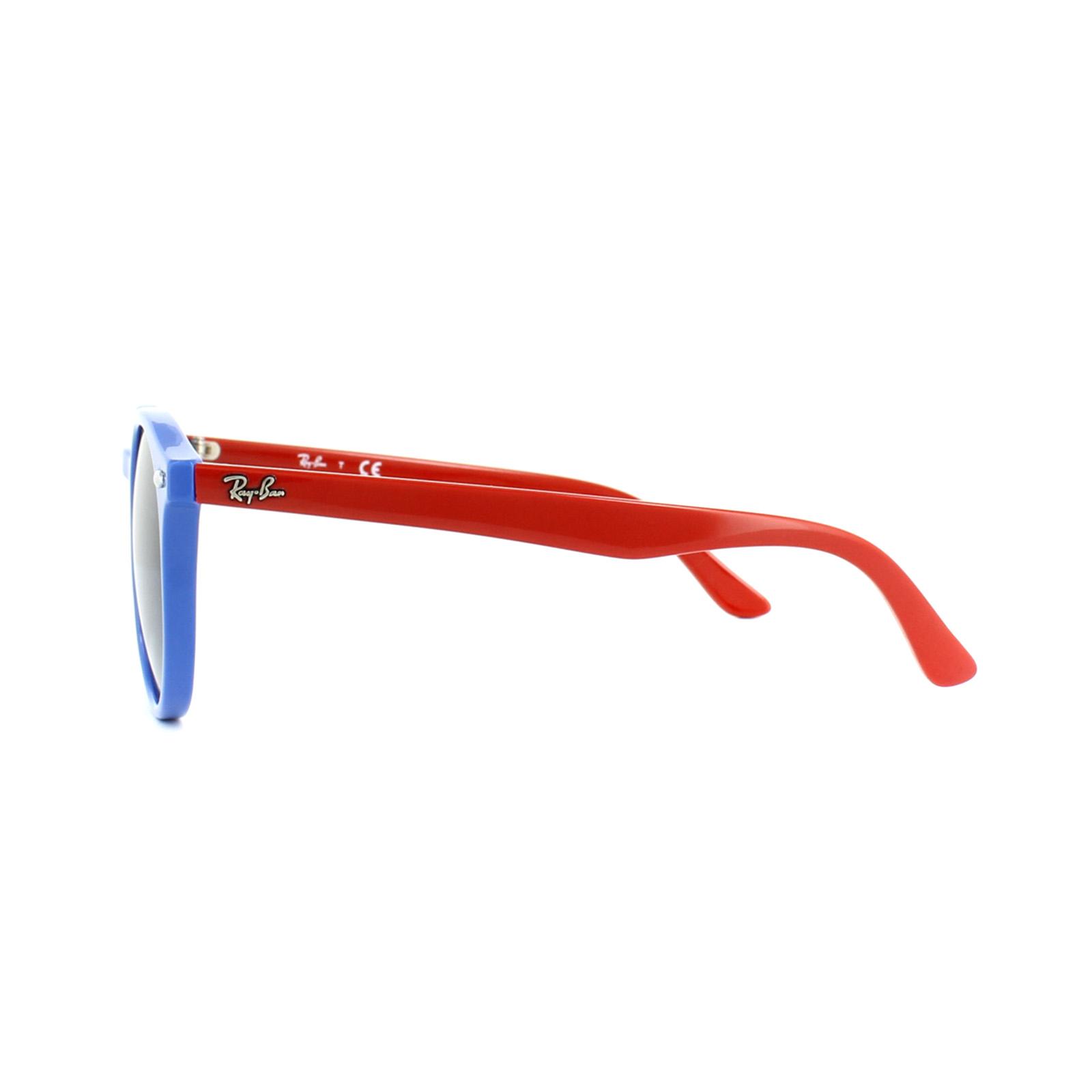 Sentinel Ray-Ban Junior Sunglasses 9064S 70204L Blue Red Blue Gradient d07017e0c3