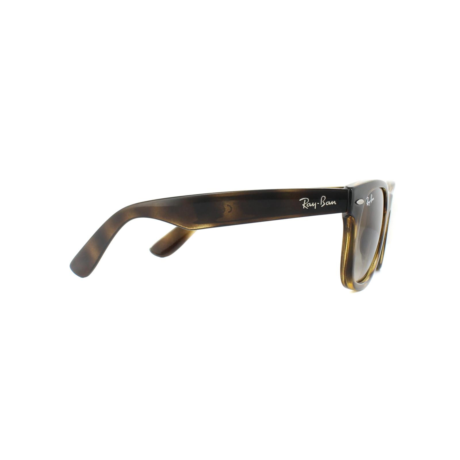 6084c49cac899f Sentinel Ray-Ban Junior Sunglasses New Wayfarer Junior 9066S 152 13  Tortoise Brown B-