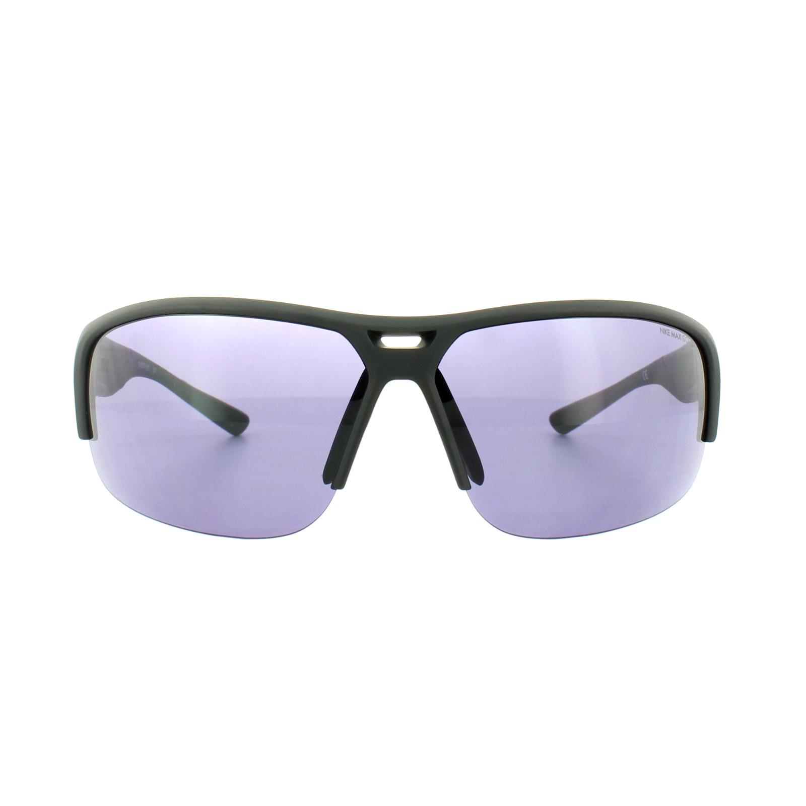 b5f2ff89879 Sentinel Nike Sunglasses Golf X2 E EV0871 010 Matt Black Max Golf Tint
