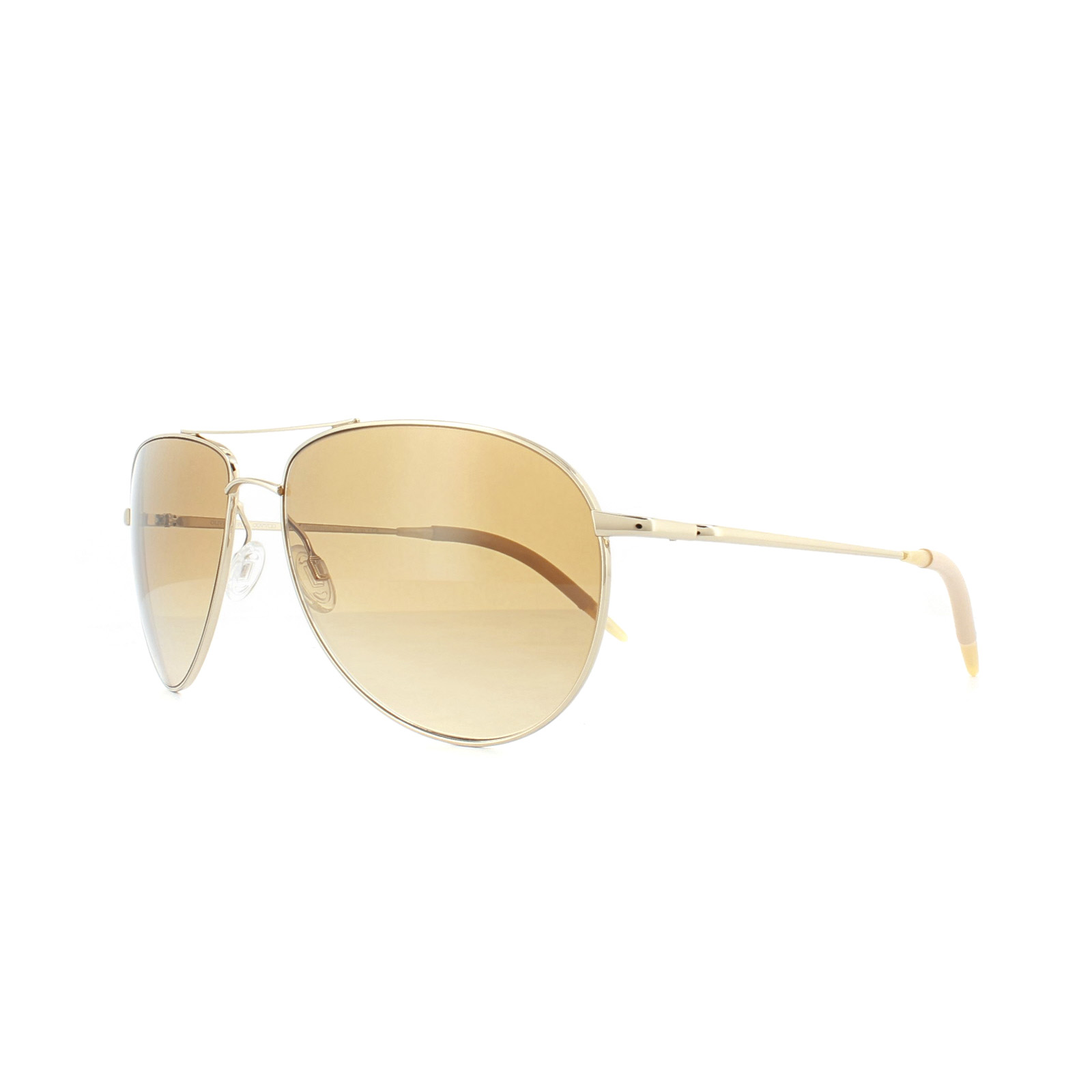 72c77dda593 Sentinel Oliver Peoples Sunglasses Benedict 1002 524251 Gold Amber VFX 62mm
