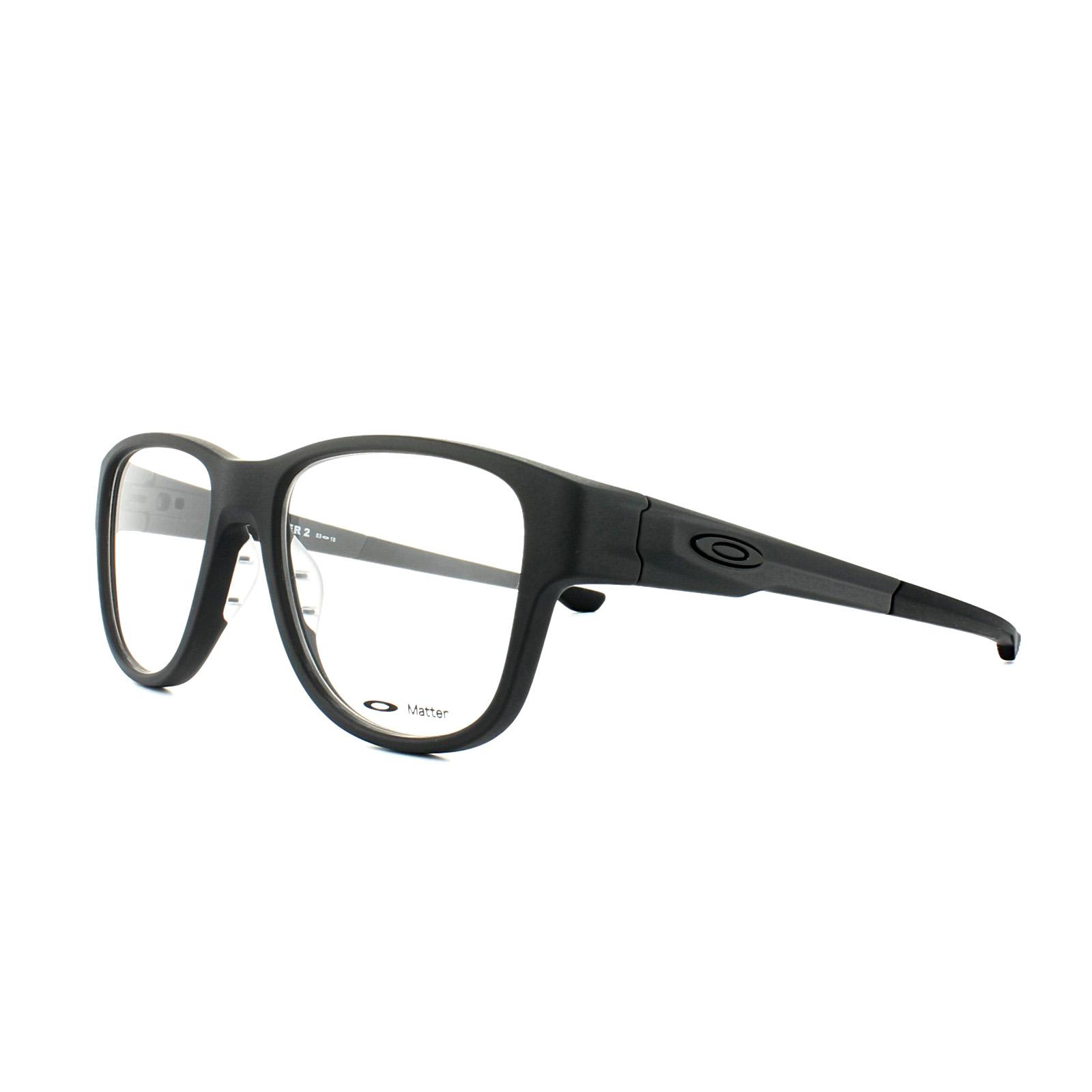 0cf06ac6cb Oakley Glasses Frames Splinter OX8094-01 Satin Black 51 888392193872 ...