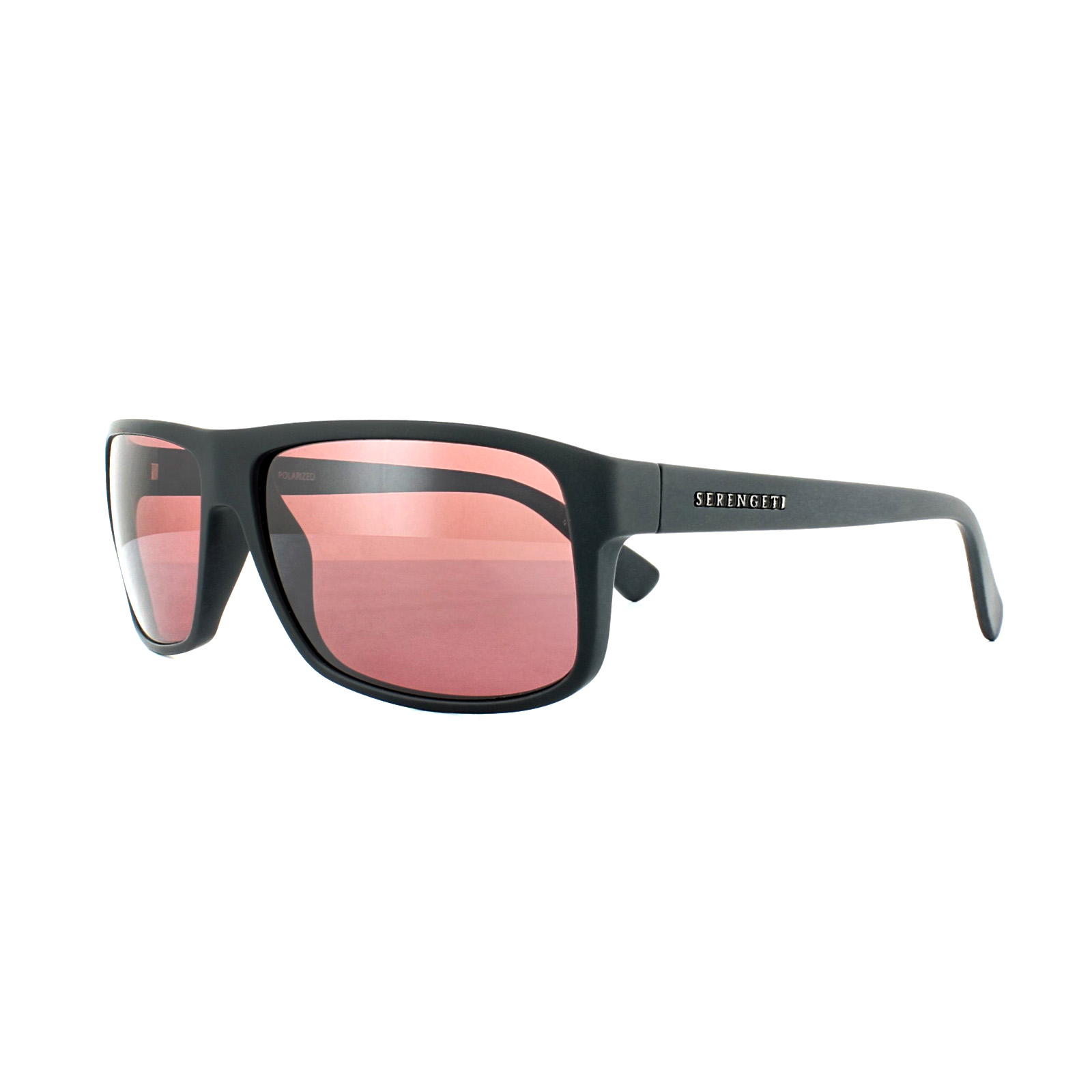 b44ce86771 Sentinel Serengeti Sunglasses Claudio 8087 Satin Dark Grey Sedona Pink  Polarized