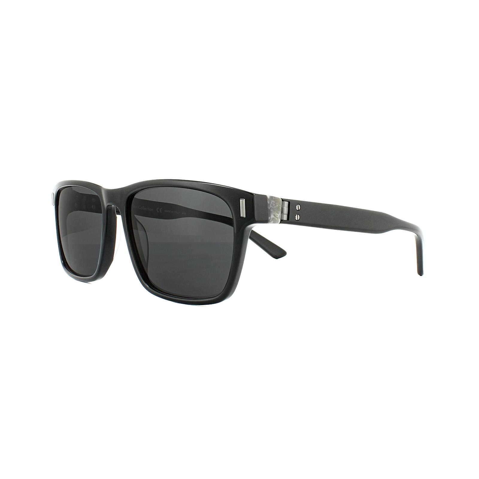 52cf9ab90026 Calvin Klein Sunglasses CK8548S 001 Black Grey 750779104835