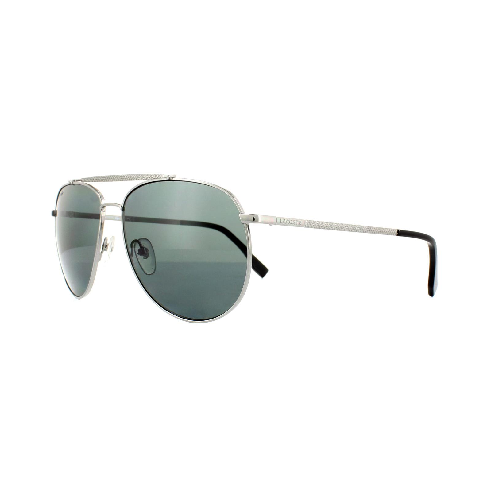 ee9f0d8fbd4 Sentinel Lacoste Sunglasses L177SP 033 Gunmetal Grey Dark Grey Polarized