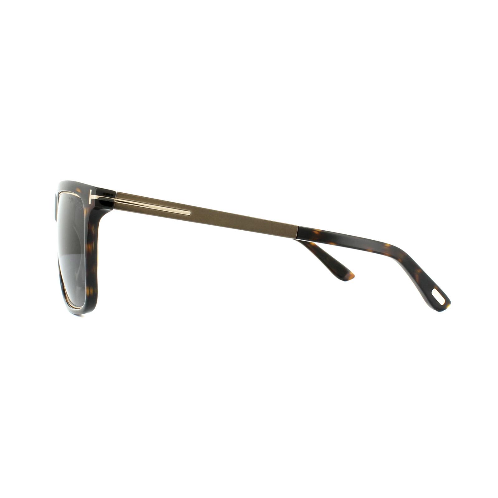 Tom Ford Sunglasses 0392 Karlie 52J Havana Dark Bronze Dark Grey