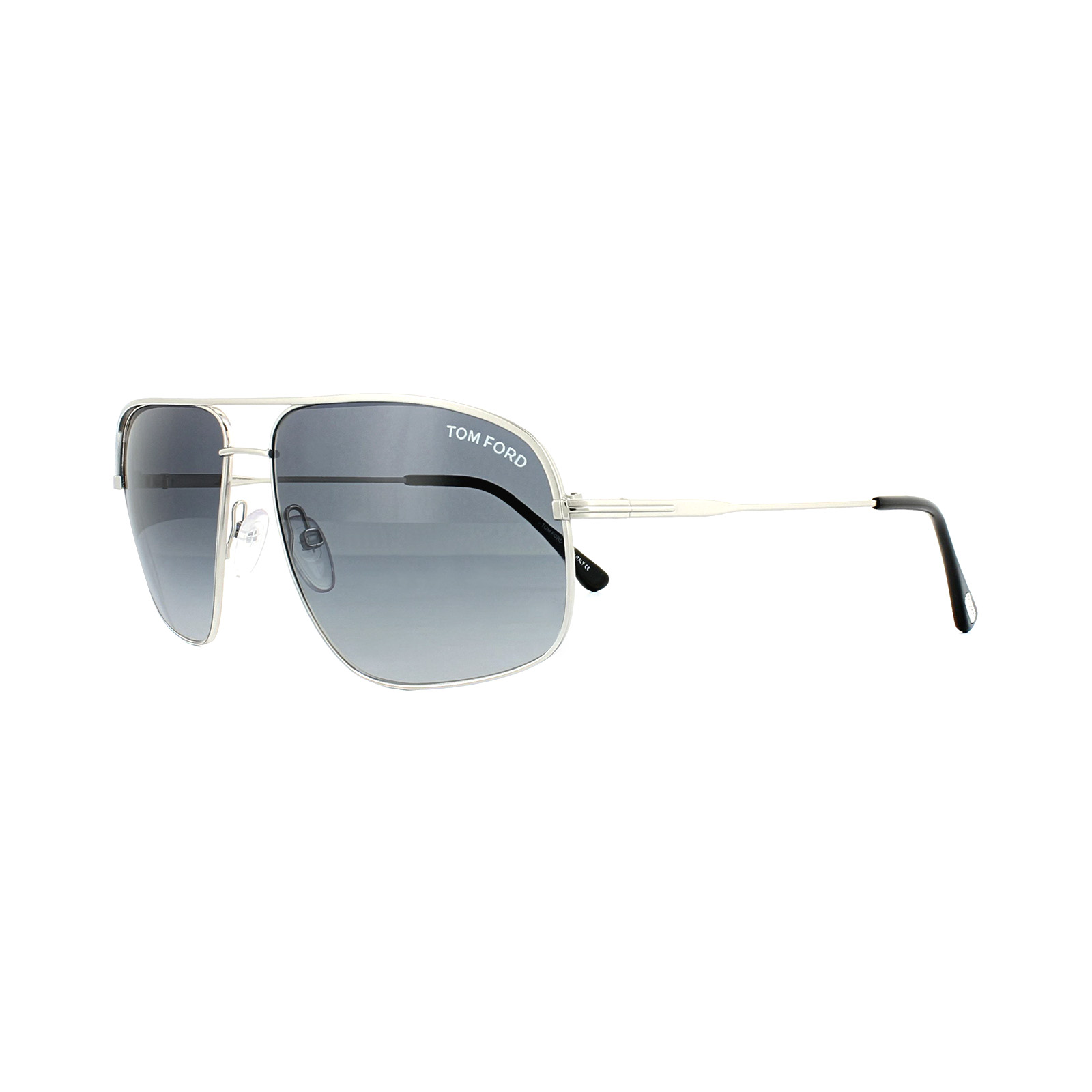 5e986cf961ccf8 Sentinel Tom Ford Sunglasses 0467 Justin 17W Matt Palladium Blue Gradient
