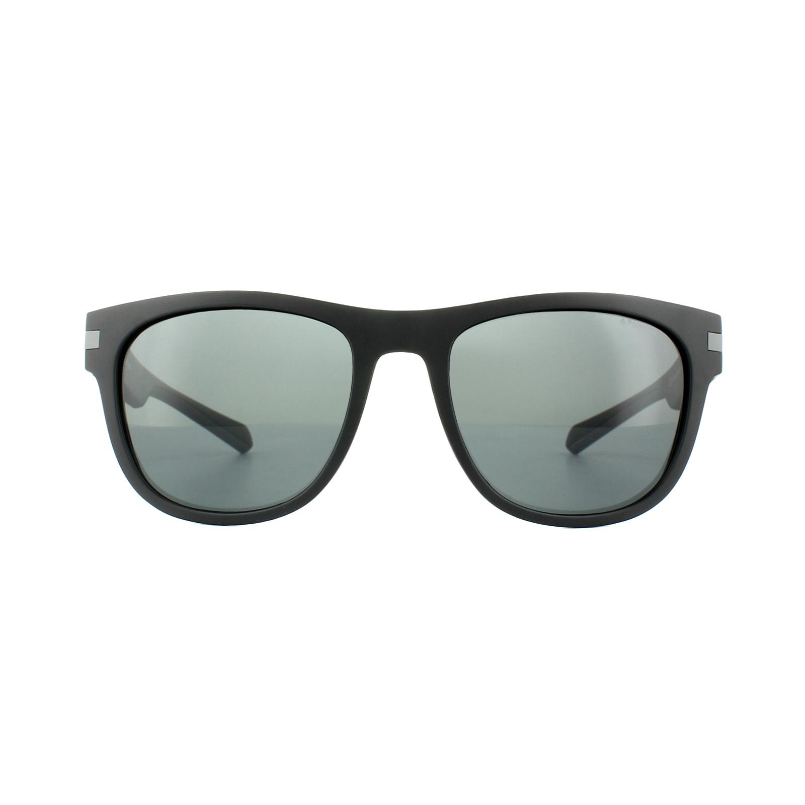 Sentinel Polaroid Sunglasses PLD 2065 S 003 M9 Matt Black Grey Polarized d1fbd46fd68