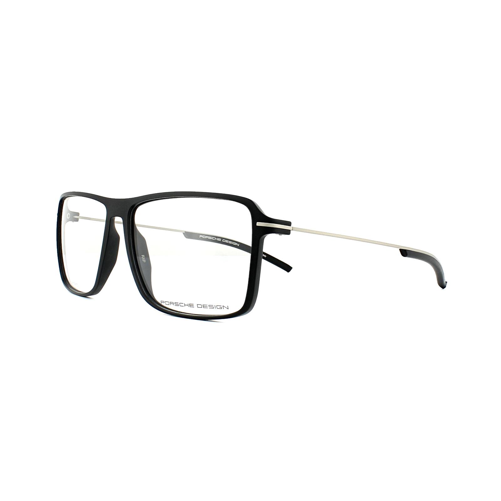95944981839 Details about Porsche Design Glasses Frames P8295 A Black Men