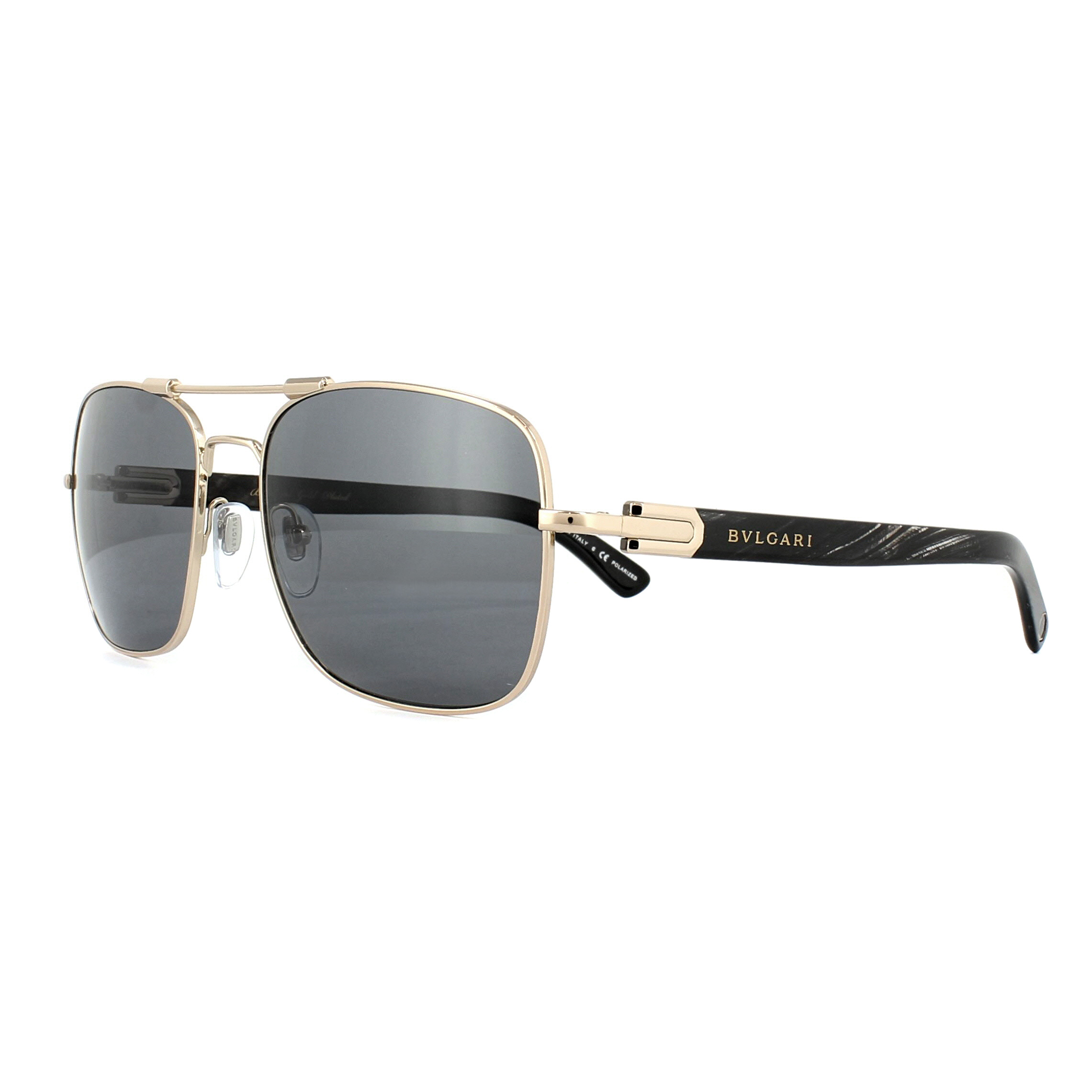 119046dde1 Sentinel Bvlgari Sunglasses 5039K 395/81 Rose Gold Plated Grey Polarized