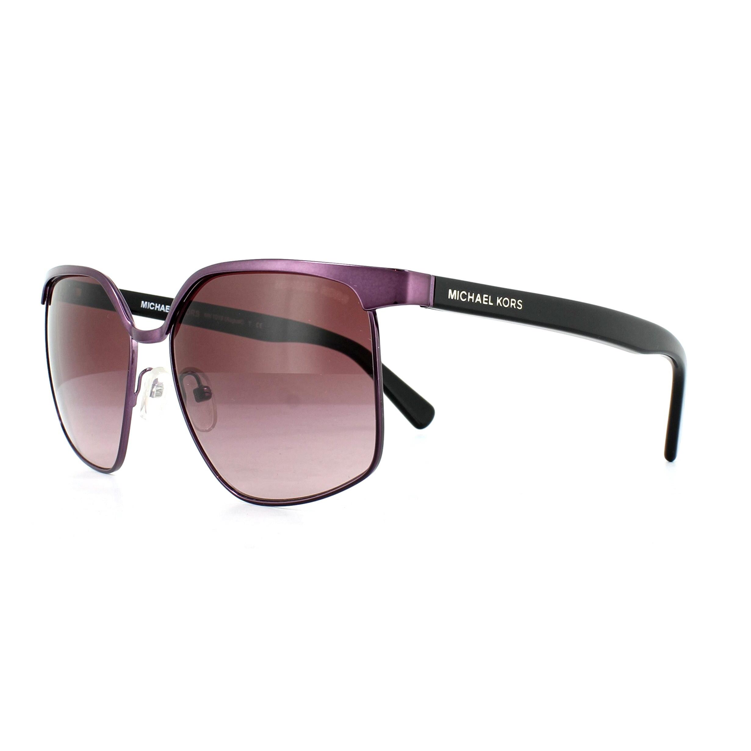 2899d3a94e1de Sentinel Michael Kors Sunglasses August 1018 11438H Plum Burgundy Gradient