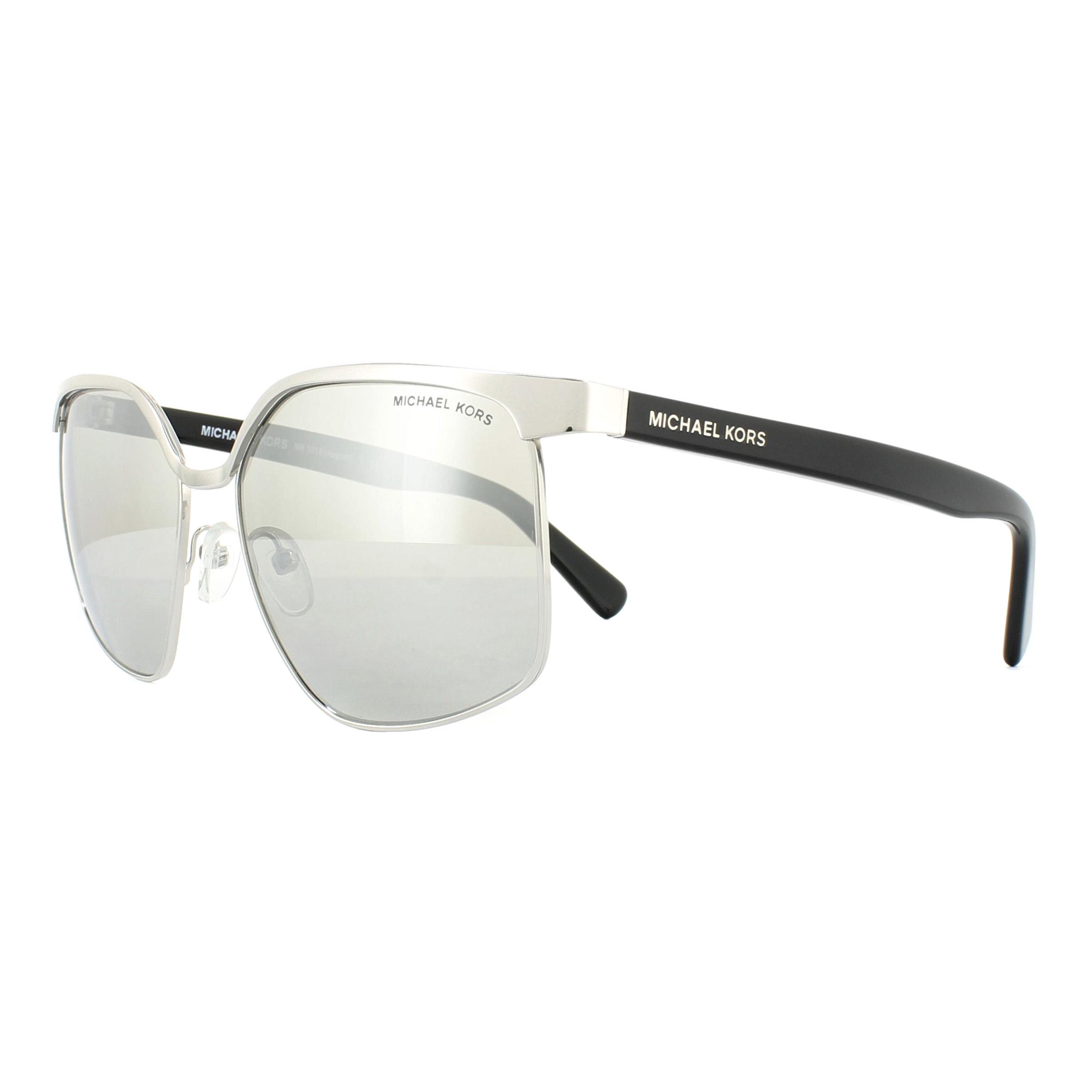 f1e1cd6c3c94c Sentinel Michael Kors Sunglasses August 1018 11486G Silver Silver Mirror