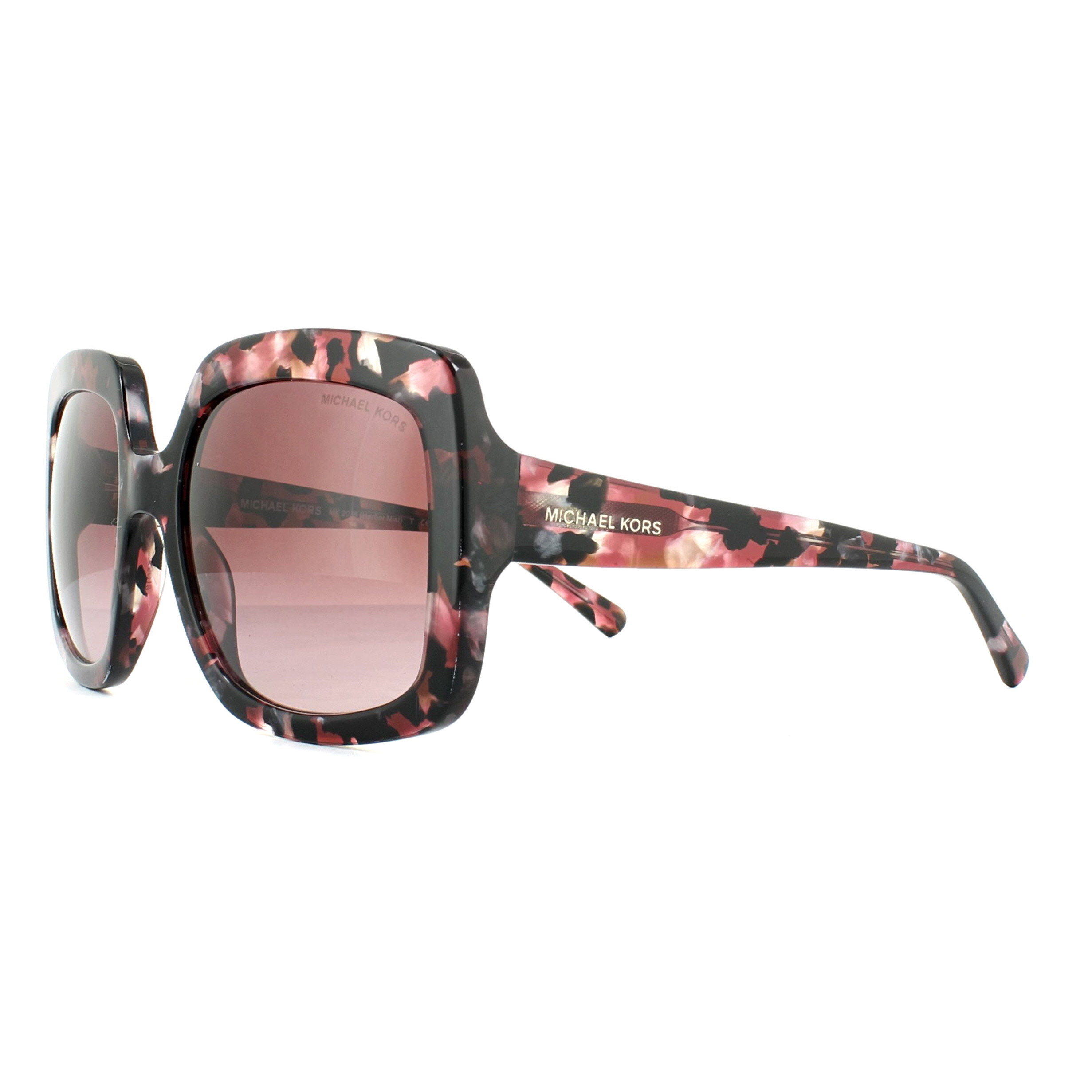 b13163a032 Michael Kors Sunglasses Harbor Mist 2036 32138H Merlot Mosaic ...