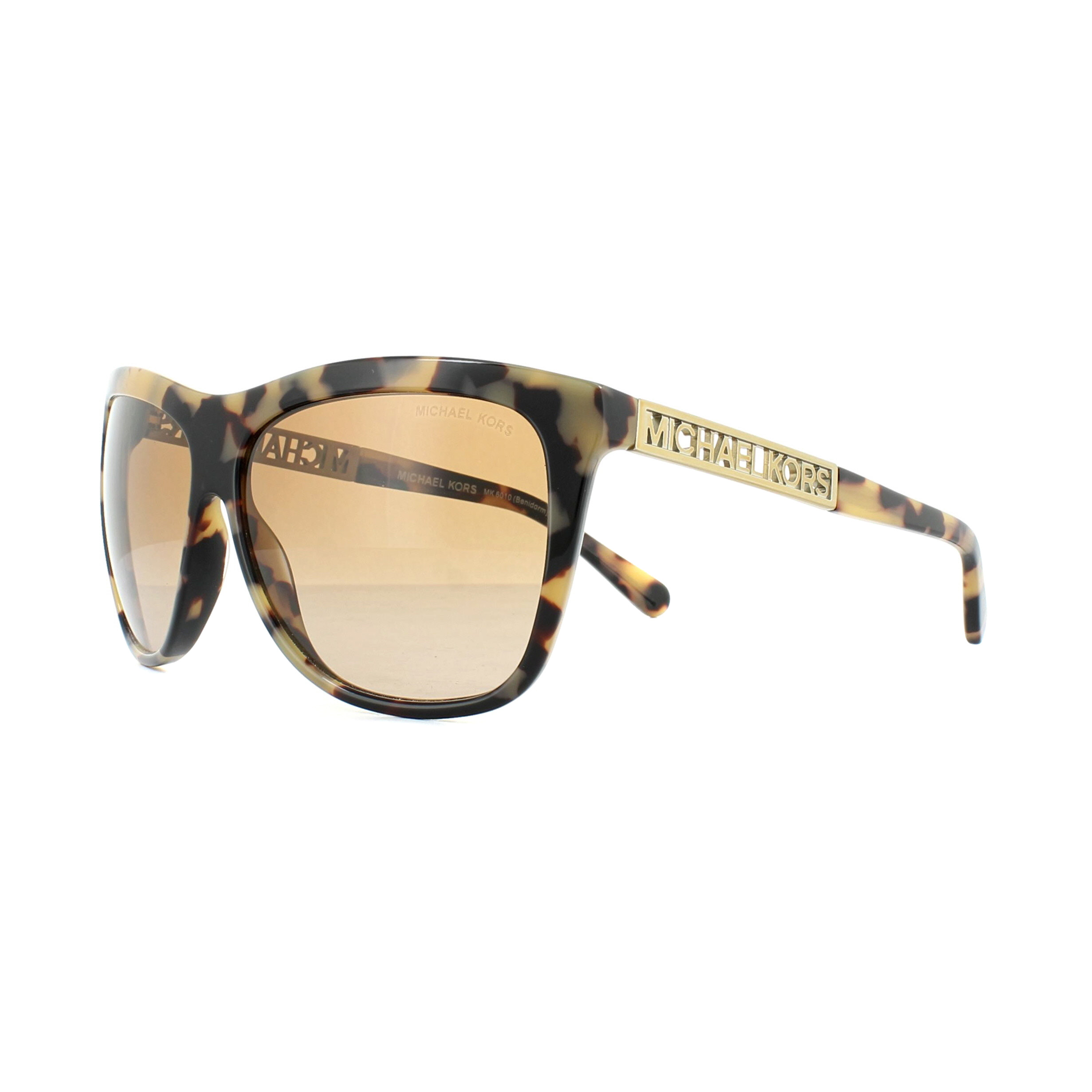 a3fa1be590 Sentinel Michael Kors Sunglasses Benidorm 6010 301313 Vintage Tortoise  Brown Gradient