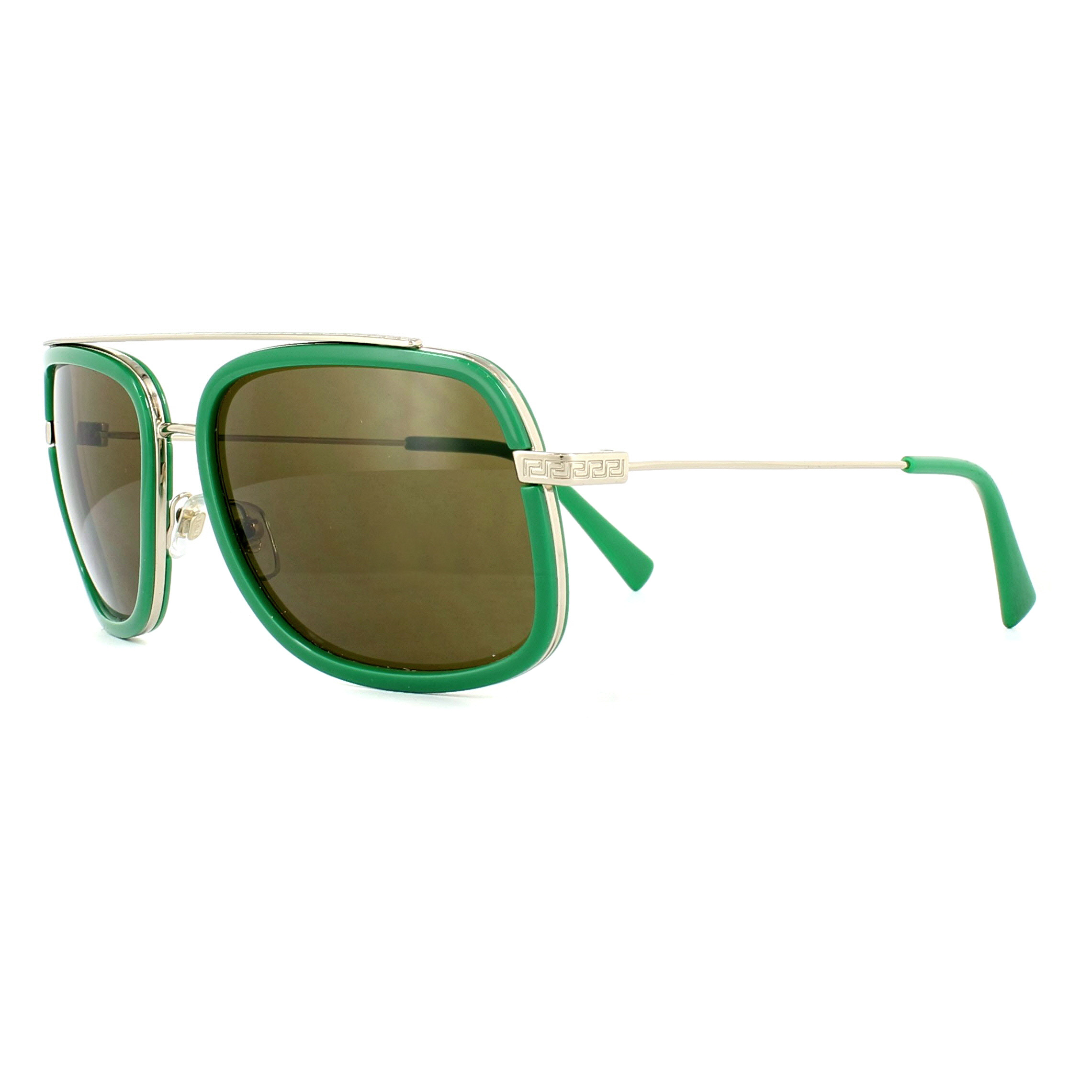a0ae1c96954 Sentinel Versace Sunglasses 2173 139073 Pale Gold Green Brown