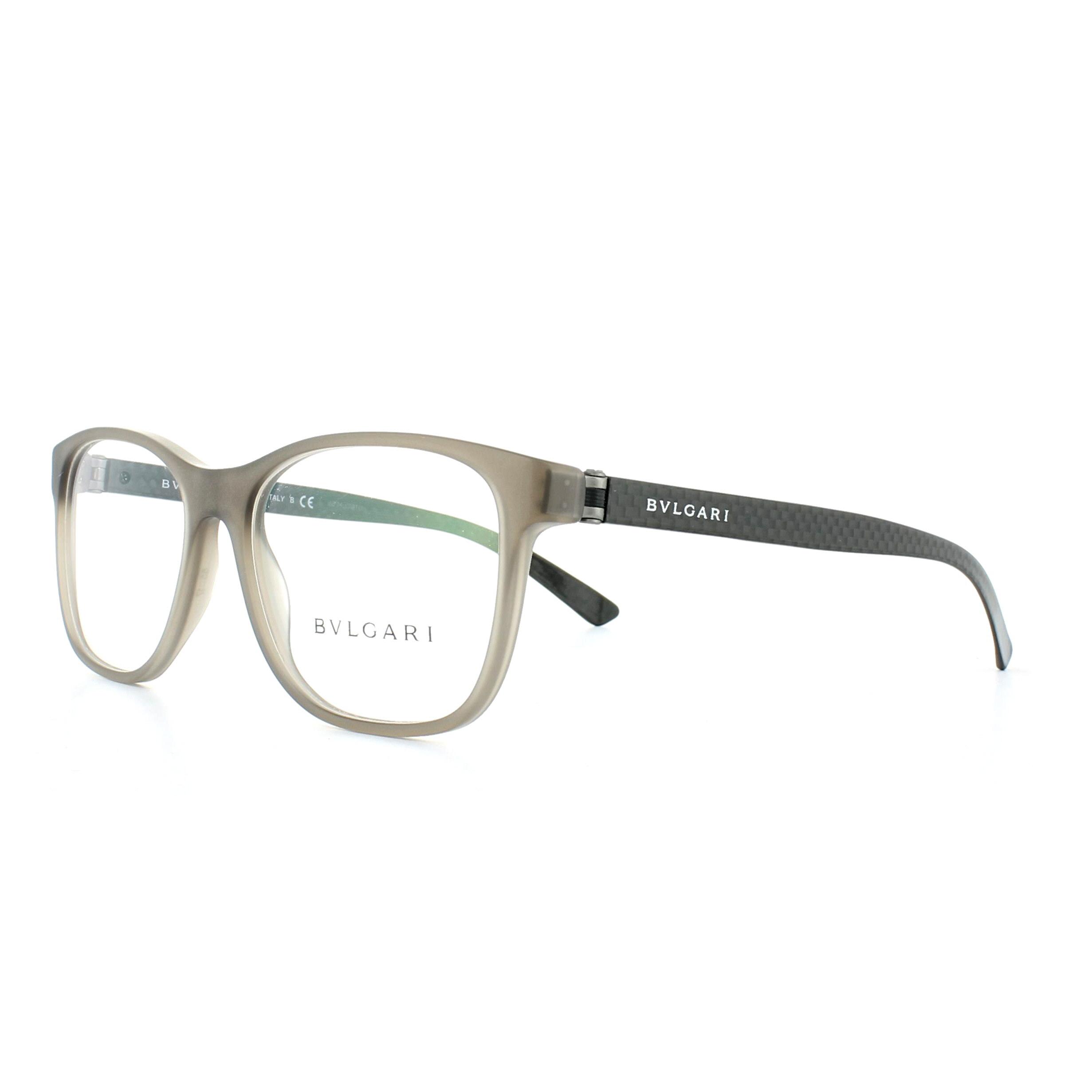 0bafd92999e Details About Bvlgari Glasses Frames 3036 5262 Grey 55mm Mens Womens