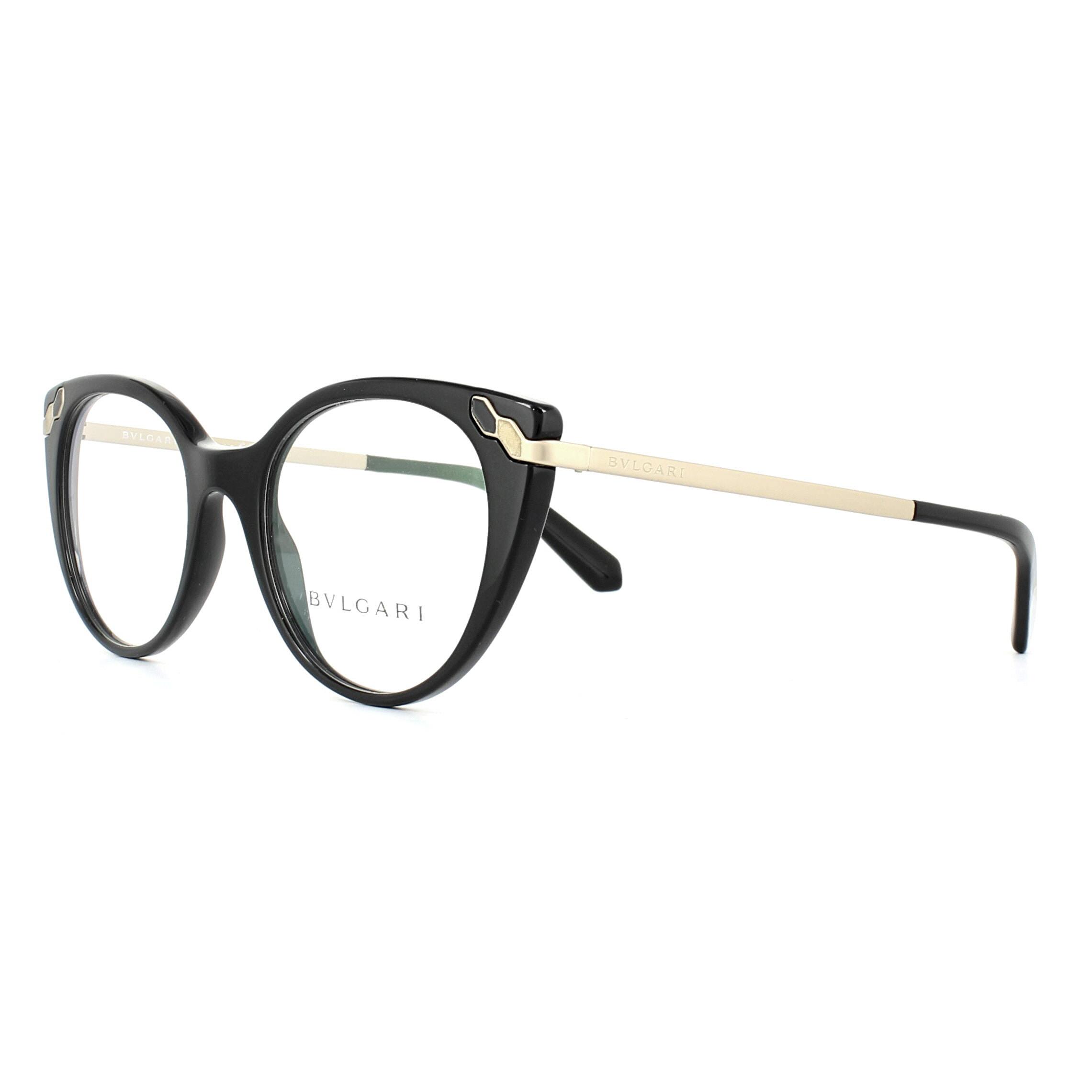 Bvlgari Glasses Frames 4150 501 Black 49mm Womens 8053672811537 | eBay