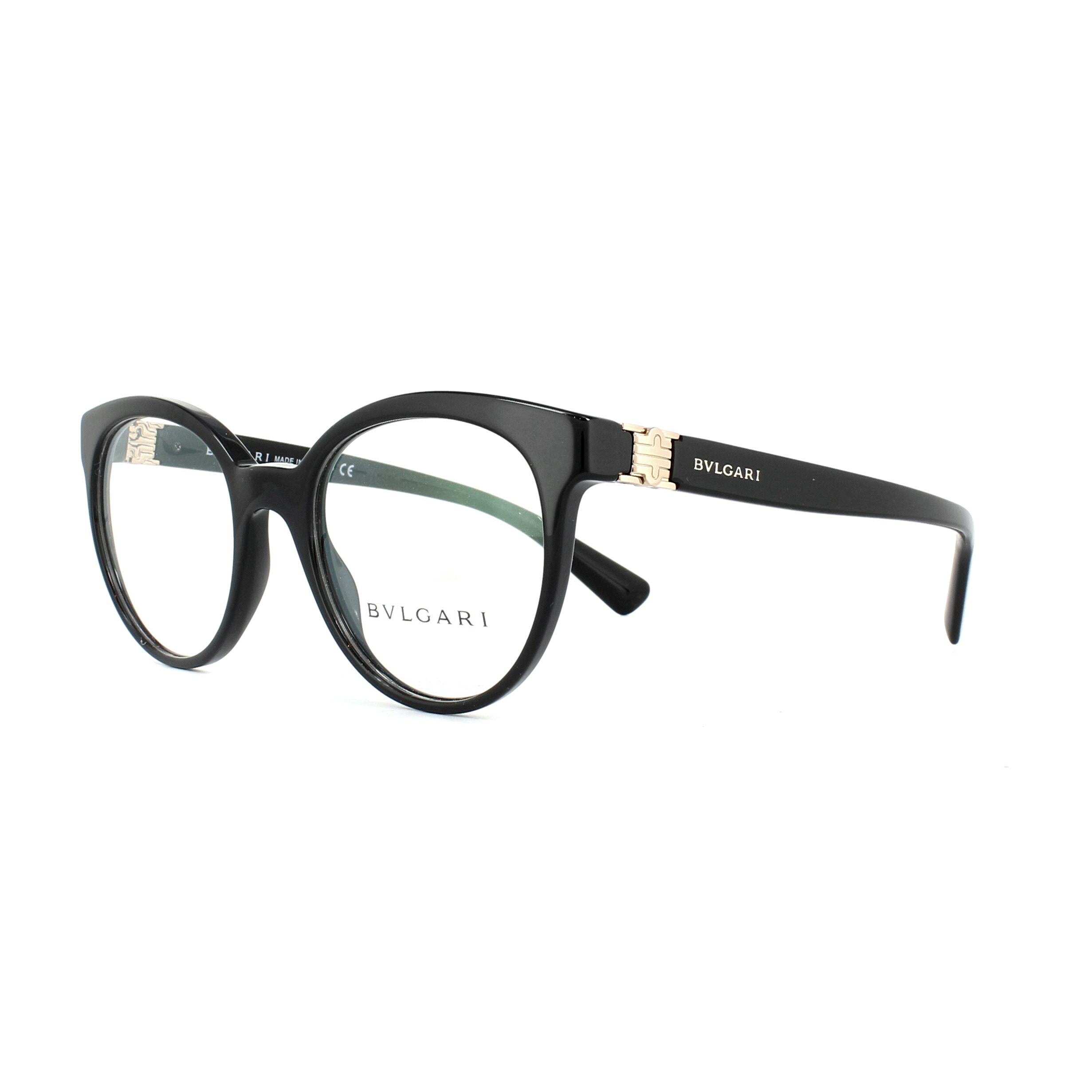 5c60cb94ea645 Bvlgari Glasses Frames 4152 501 Black 49mm Womens 8053672811810