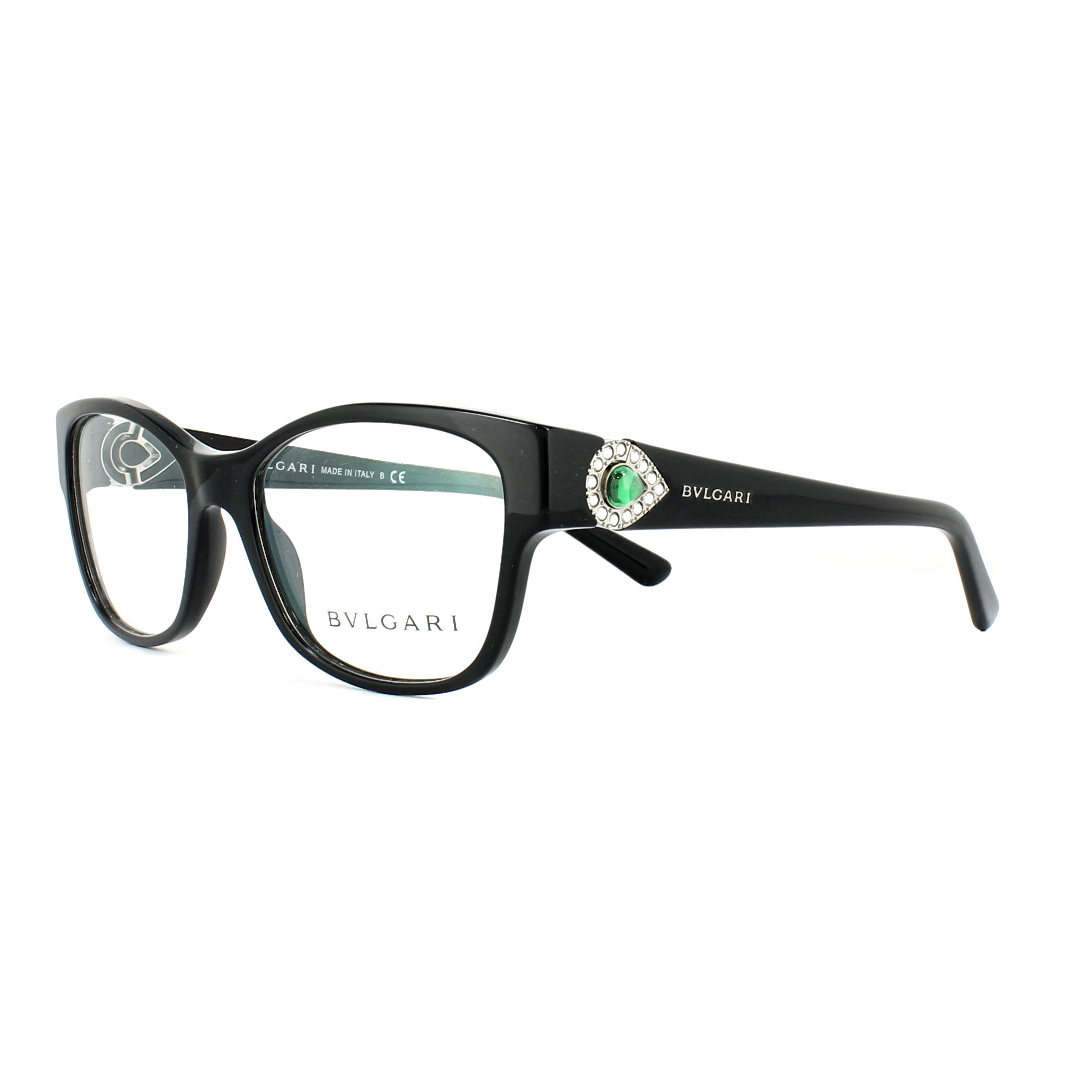 Bvlgari Glasses Frames 4074B 501 Black 53mm Womens 8053672079739 | eBay