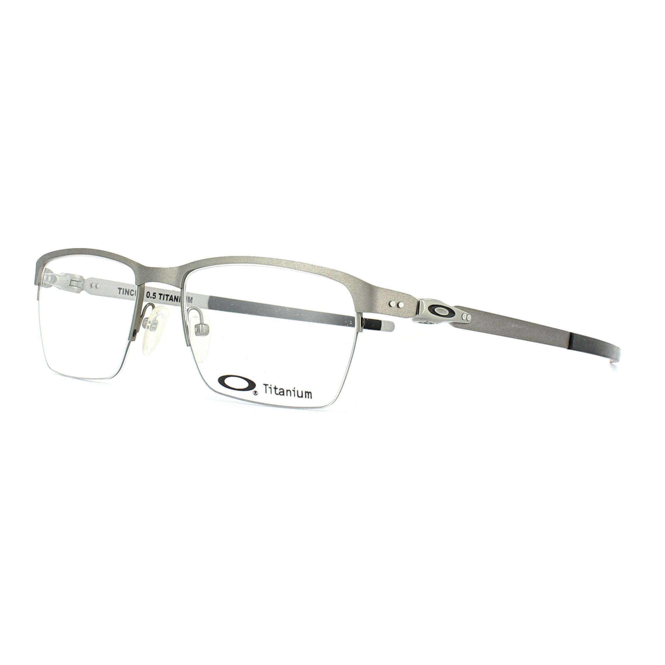 b36cae5c6709c Sentinel Oakley Glasses Frames Tincup 0.5 OX5099-02 Powder Steel 51mm Mens