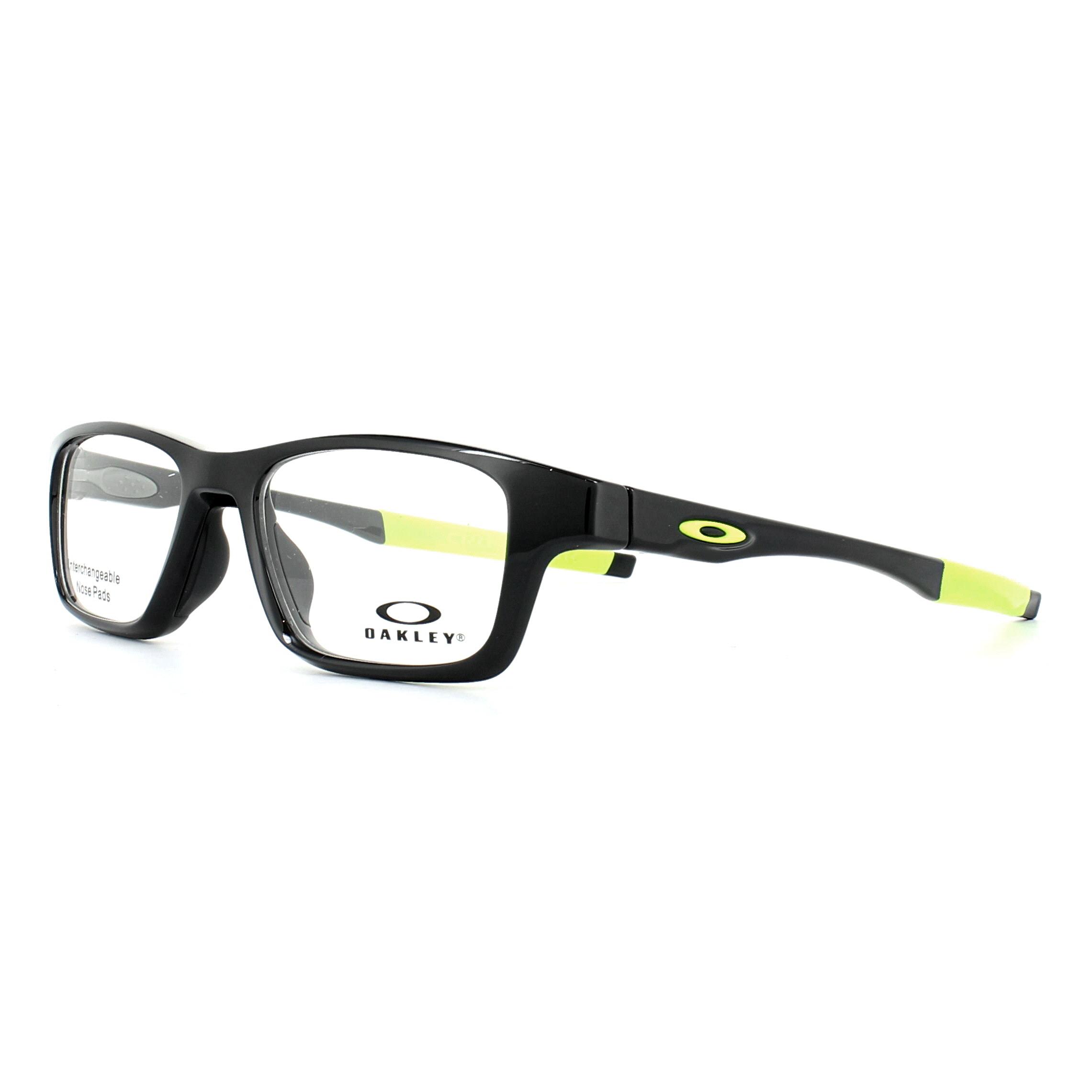 Oakley Glasses Frames Crosslink High Power OX8117-02 Polished Black ...
