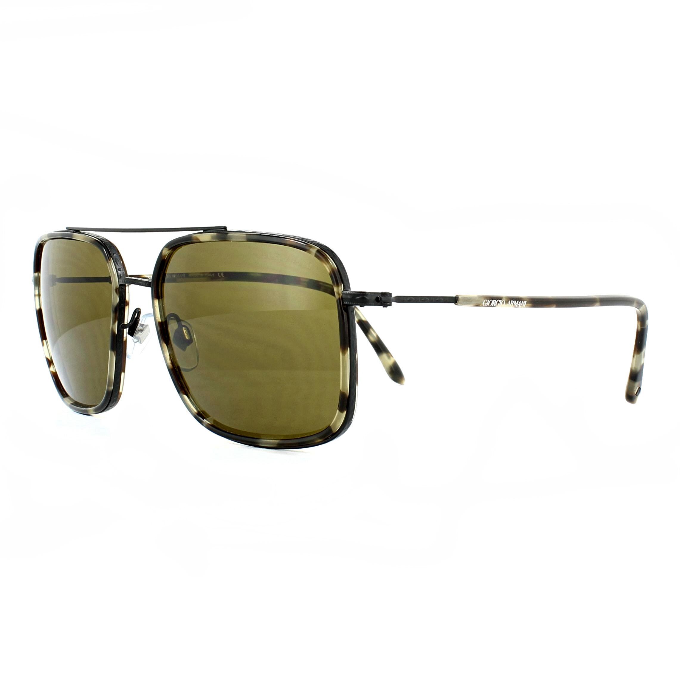 80191aa55b8b Giorgio Armani Sunglasses AR6031 311973 Havana Brown 8053672466829 ...
