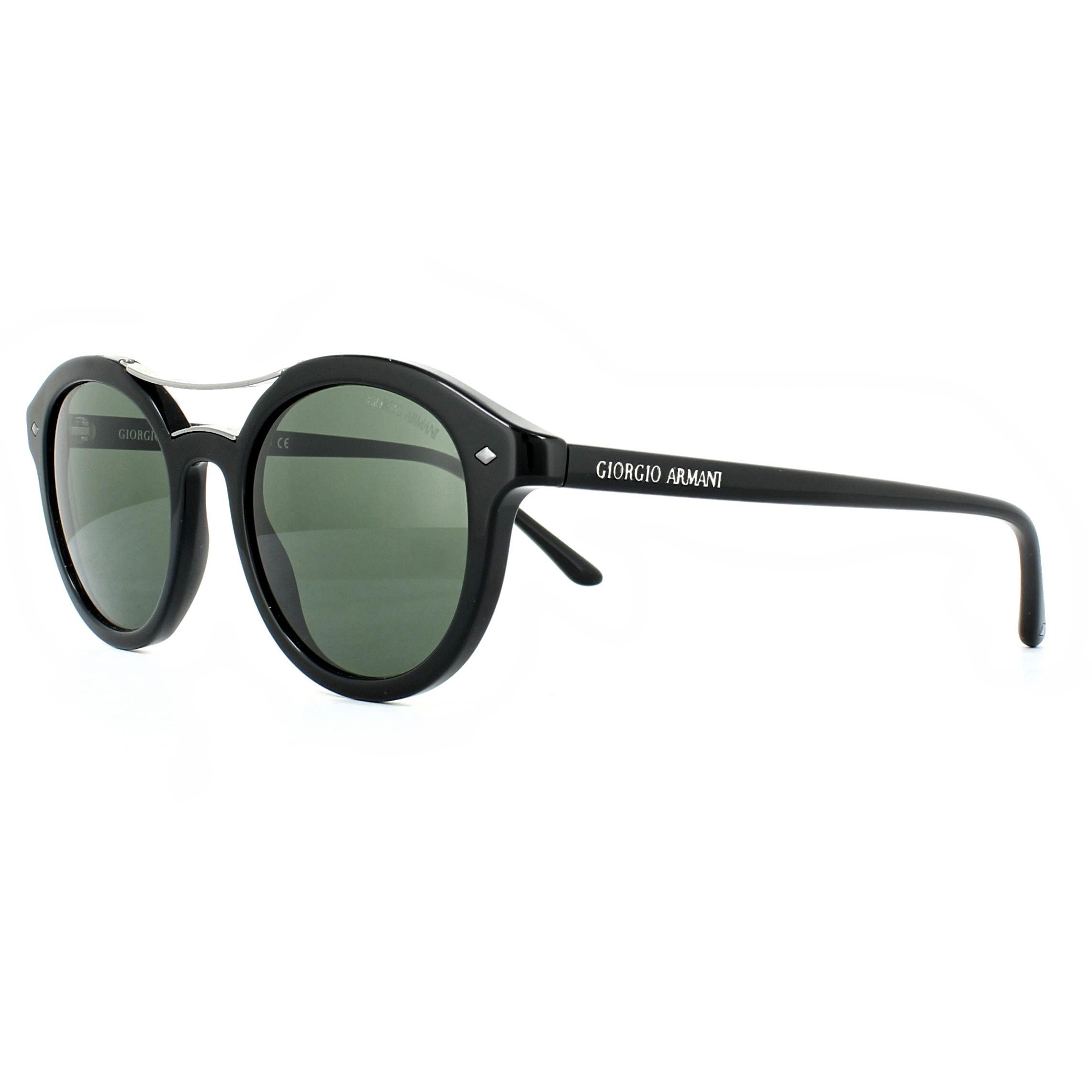 ce21fefc3d59 Giorgio Armani Sunglasses AR8007 501731 Black Green 8053672567526