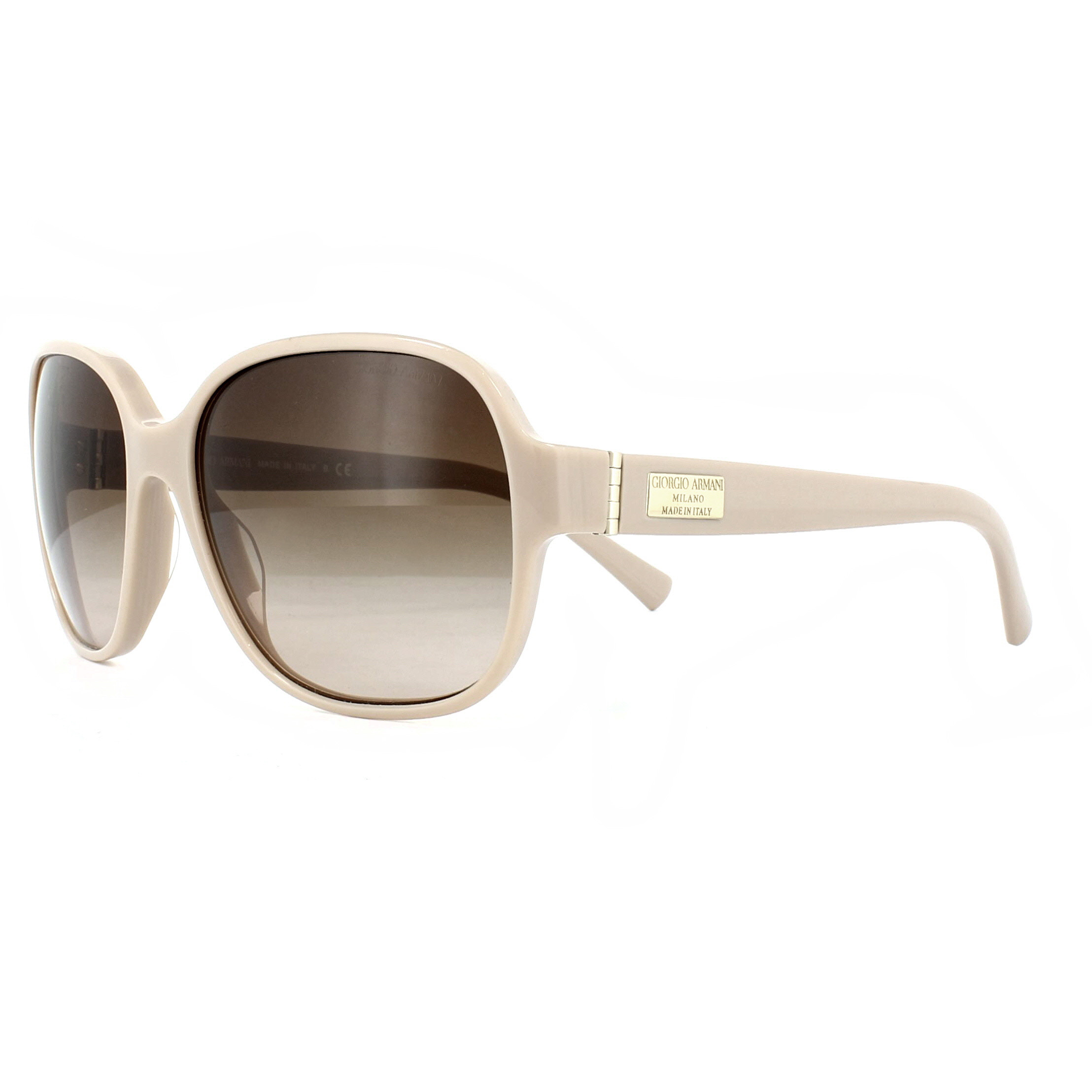 b18e7f6c252 Details about Giorgio Armani Sunglasses AR8020 511713 Beige Brown Gradient
