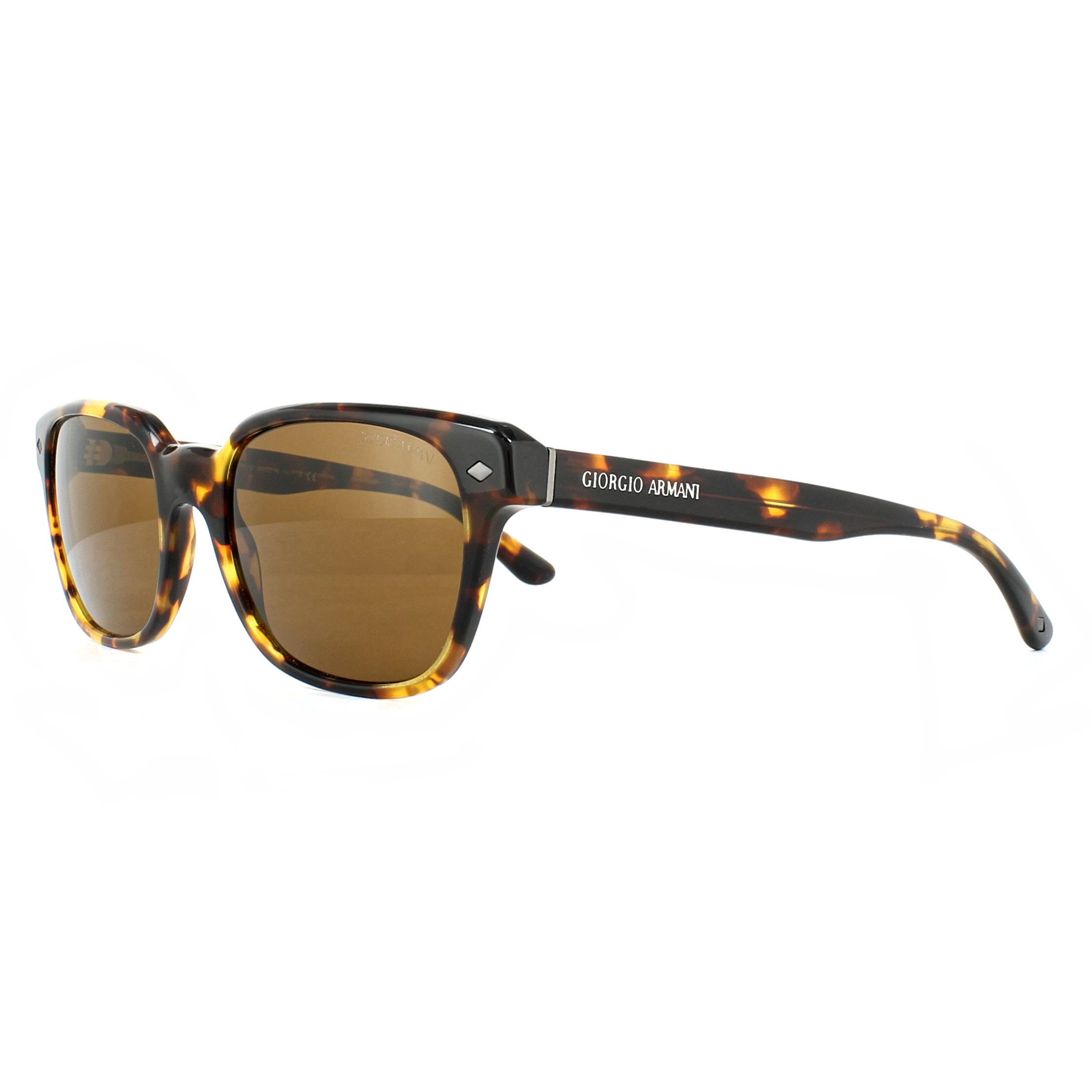86940cb2a3fb Details about Giorgio Armani Sunglasses AR8067 509253 Yellow Havana Brown