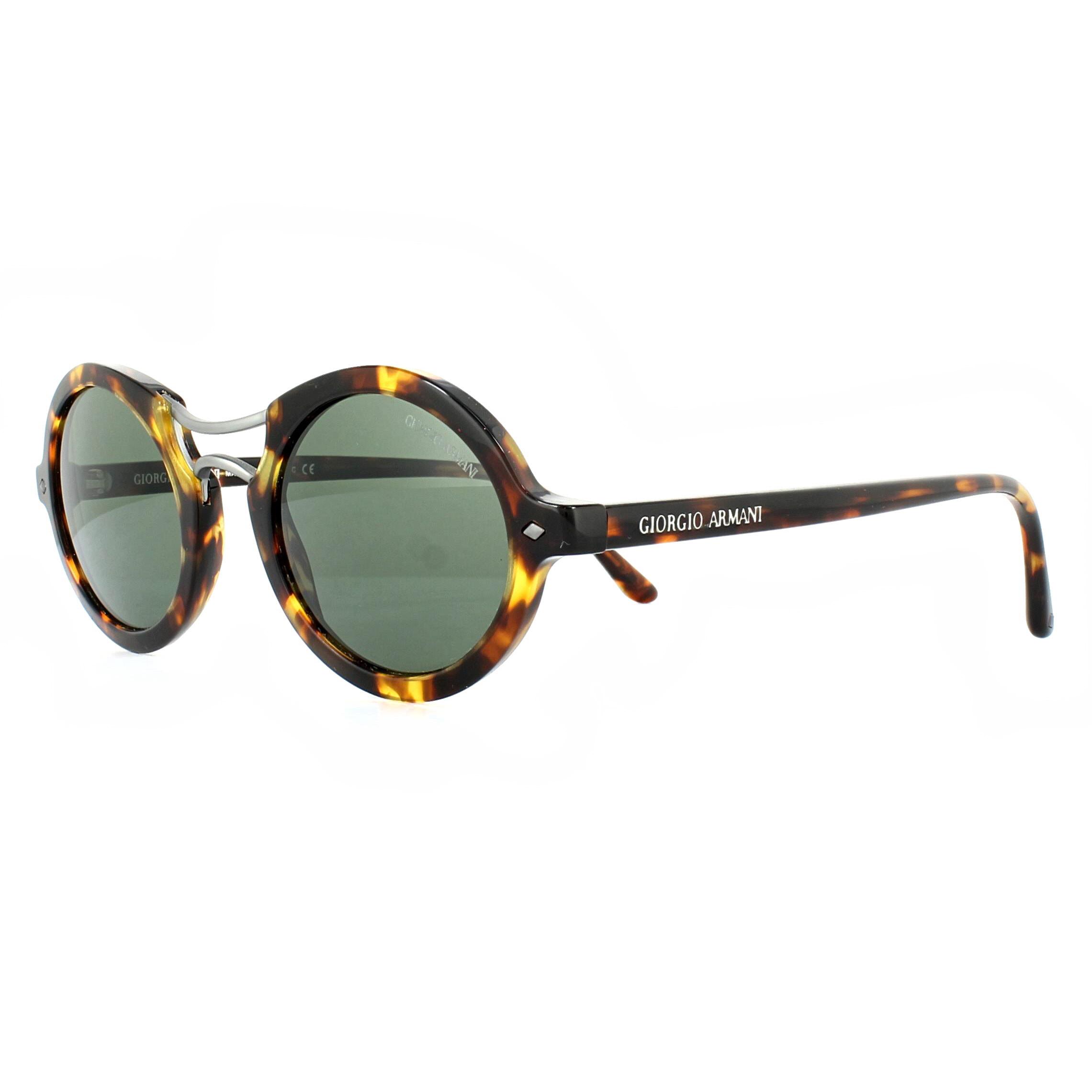 7ea22c17cdb1 Sentinel Giorgio Armani Sunglasses AR8072 509231 Yellow Havana Green