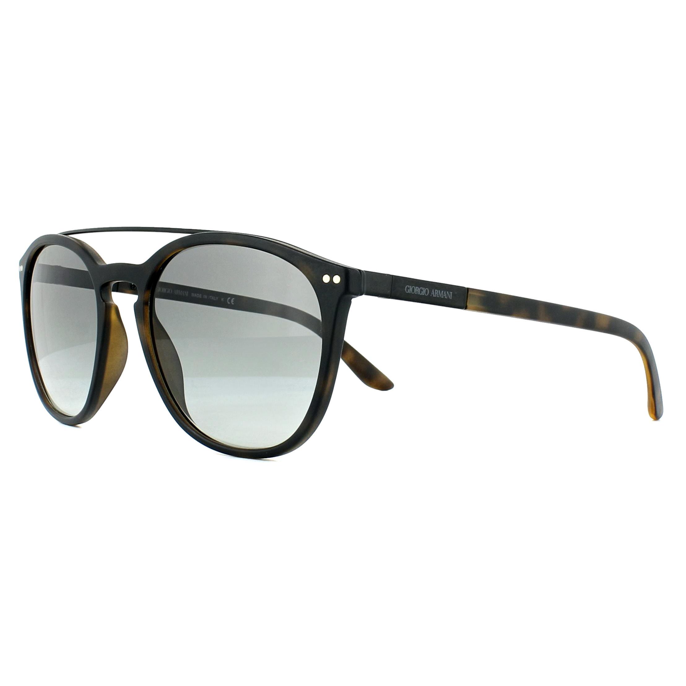 af8e54165573 Sentinel Giorgio Armani Sunglasses AR8088 508911 Matte Havana Grey Gradient