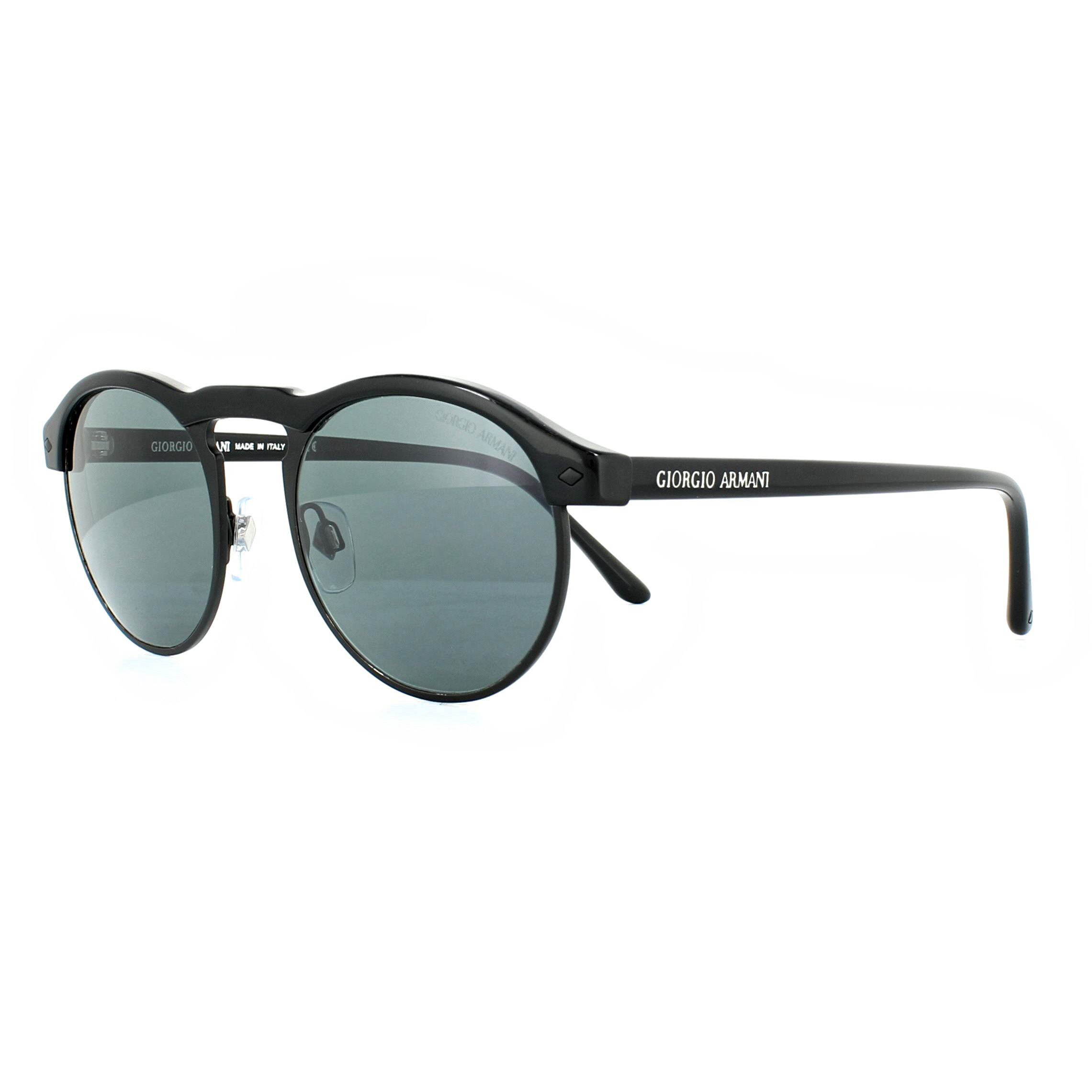 c3d1eda29429 Sentinel Giorgio Armani Sunglasses AR8090 5017R5 Matte Black and Shiny  Black Grey