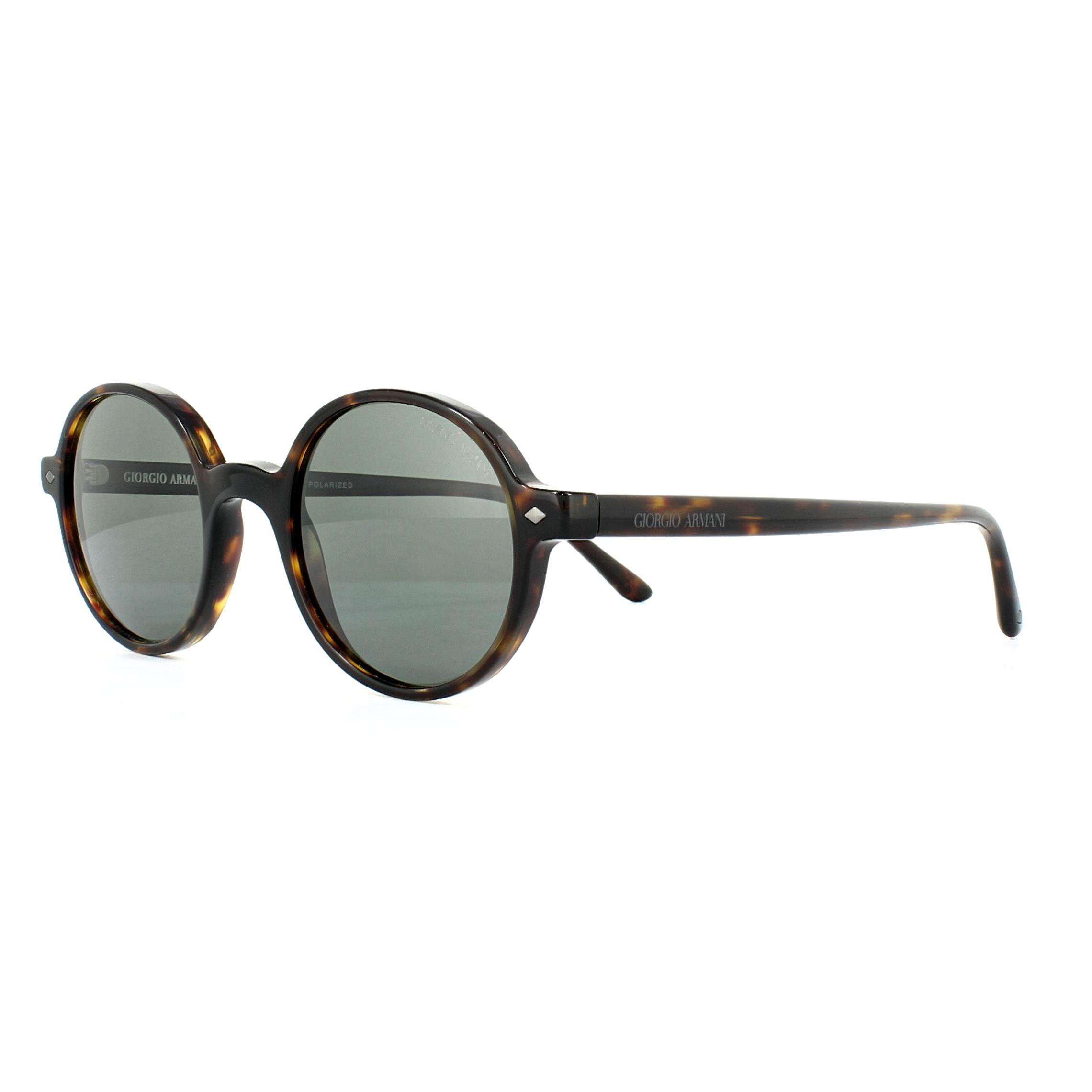 1fed3ea09869 Sentinel Giorgio Armani Sunglasses AR8097 5026K8 Havana Grey Polarized 49mm