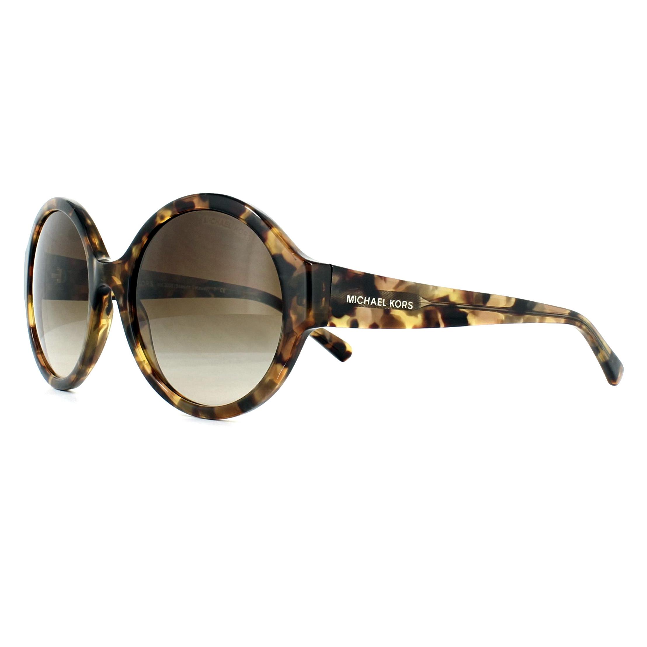 e6af0d8bc3 Sentinel Michael Kors Sunglasses Seaside Getaway 2035 321013 Brown Medley  Brown Gradient