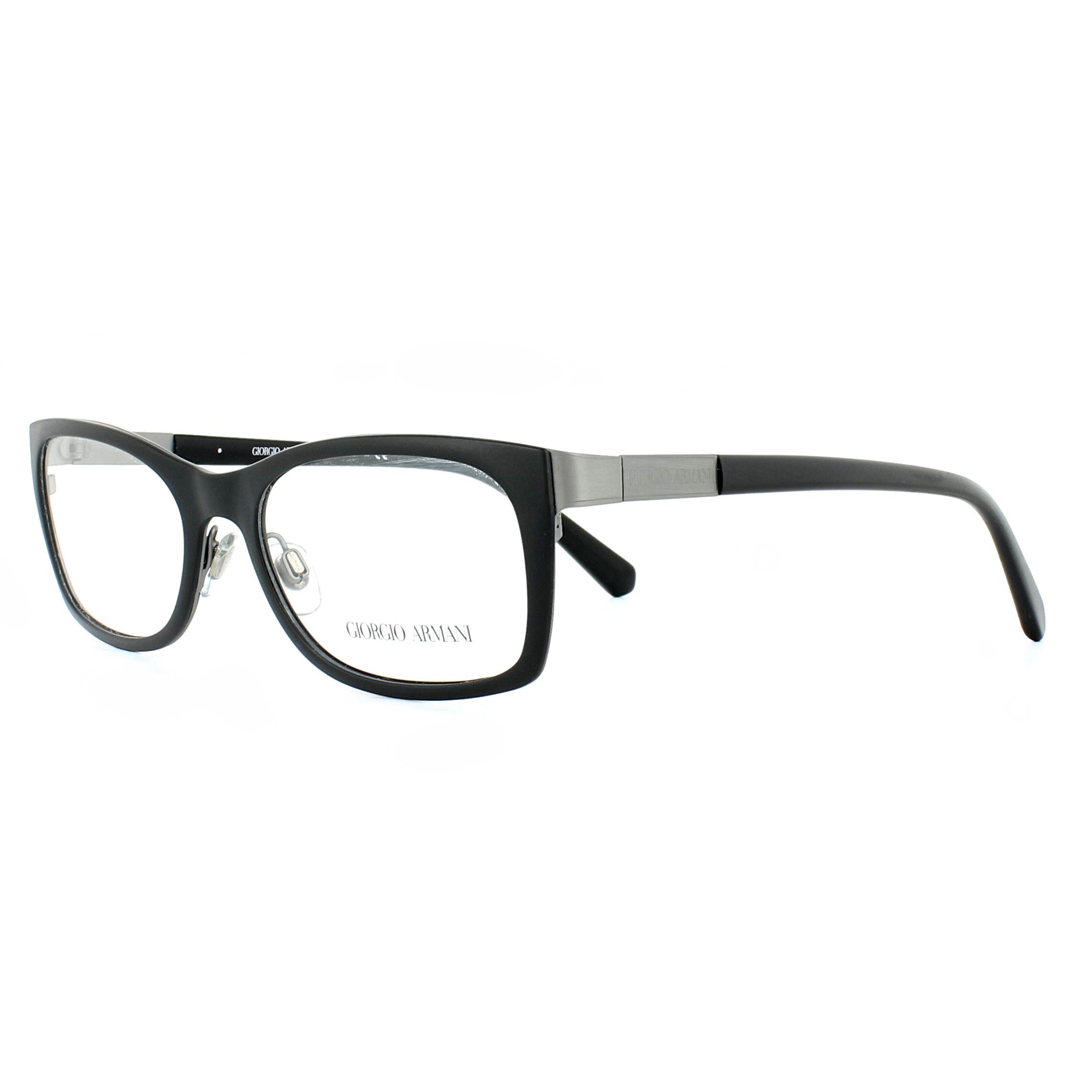 c9e237da96e Sentinel Giorgio Armani Glasses Frames AR5013 3003 Matte Brushed Gunmetal  52mm Mens