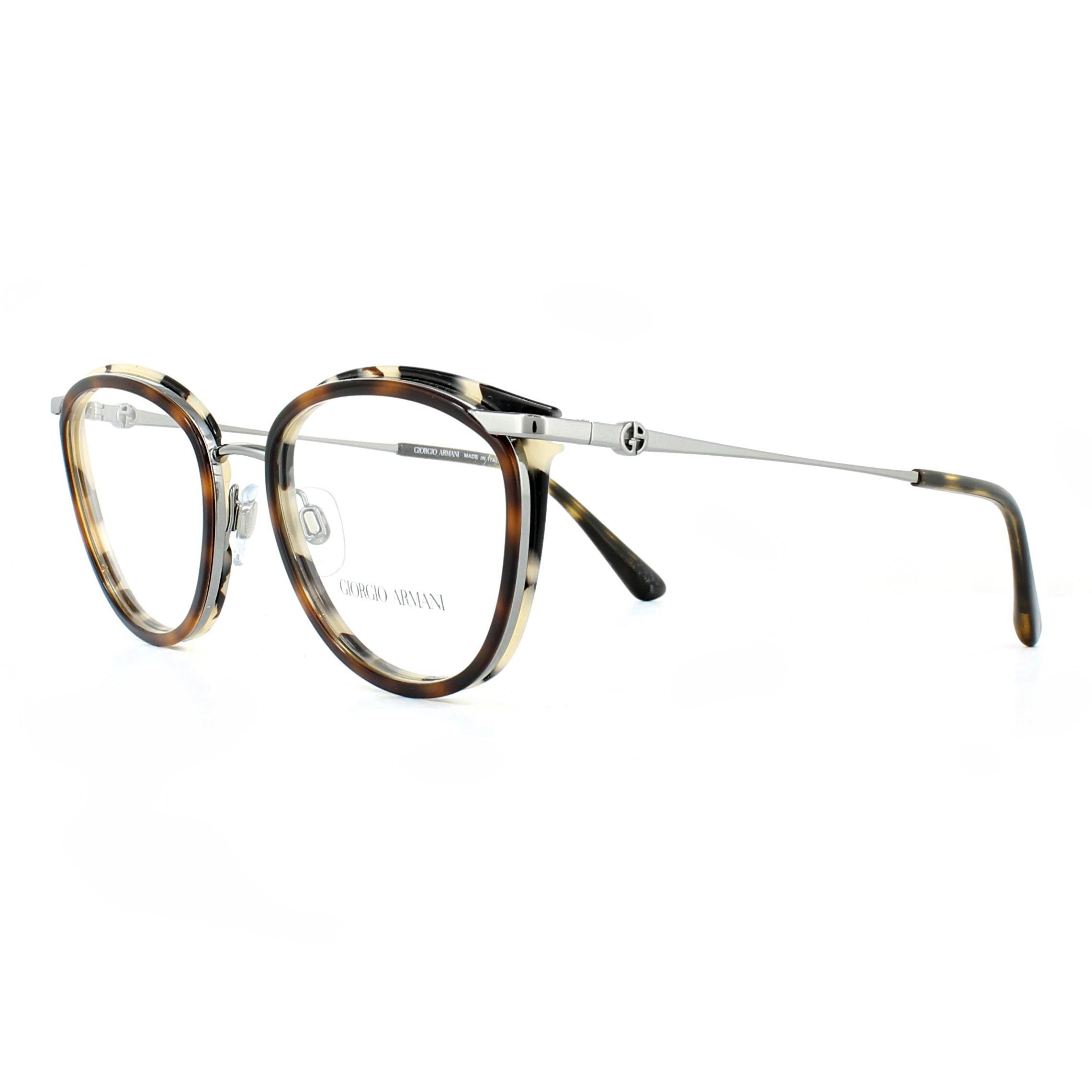 d99f413c792 Sentinel Giorgio Armani Glasses Frames AR5074 3010 Gunmetal Grey and Havana  52mm Womens