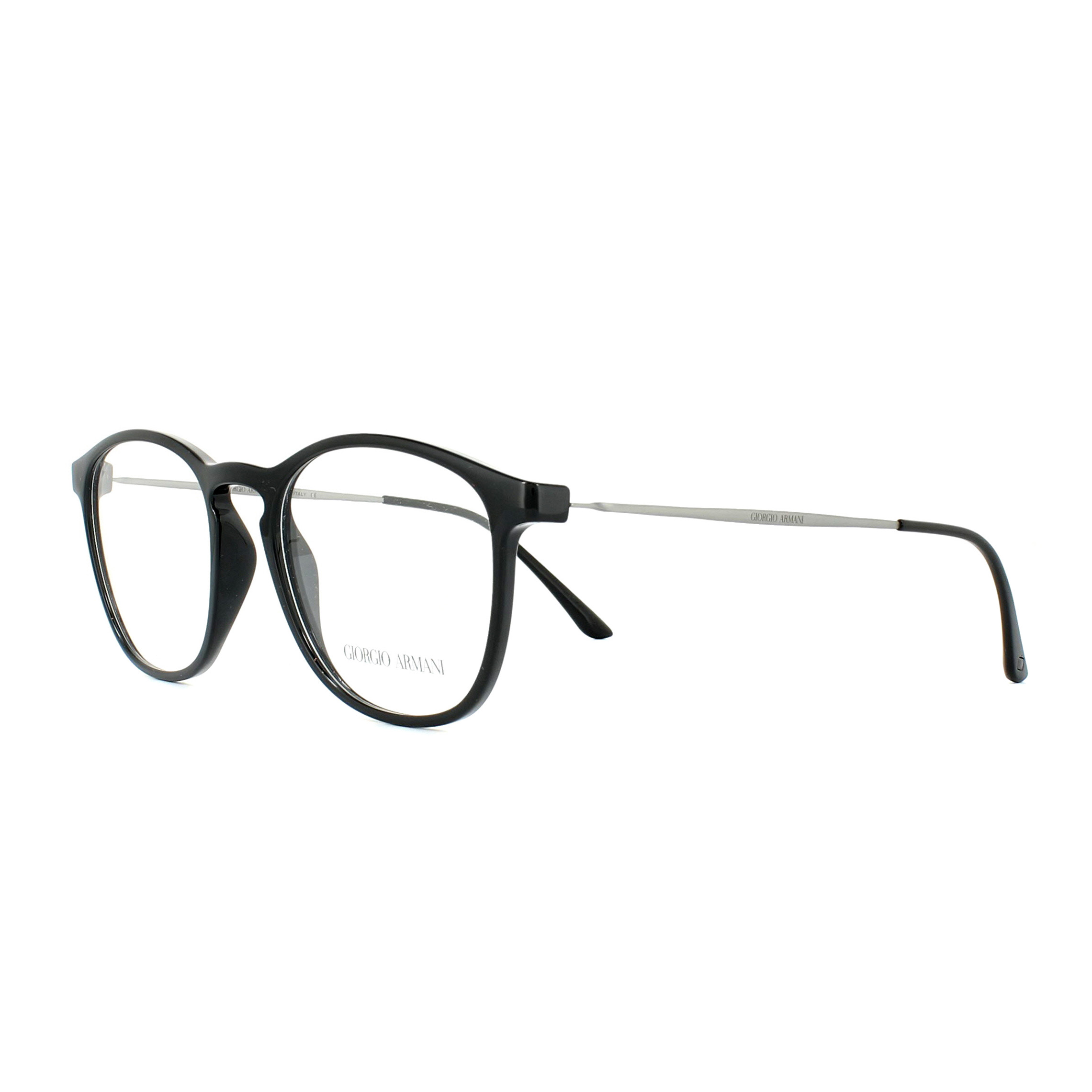 f91f4944a1c Sentinel Giorgio Armani Glasses Frames AR7141 5017 Black 52mm Mens